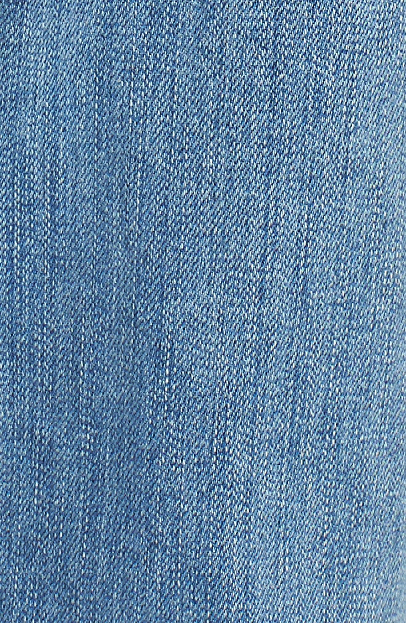 Josefina High Waist Boyfriend Jeans,                             Alternate thumbnail 6, color,