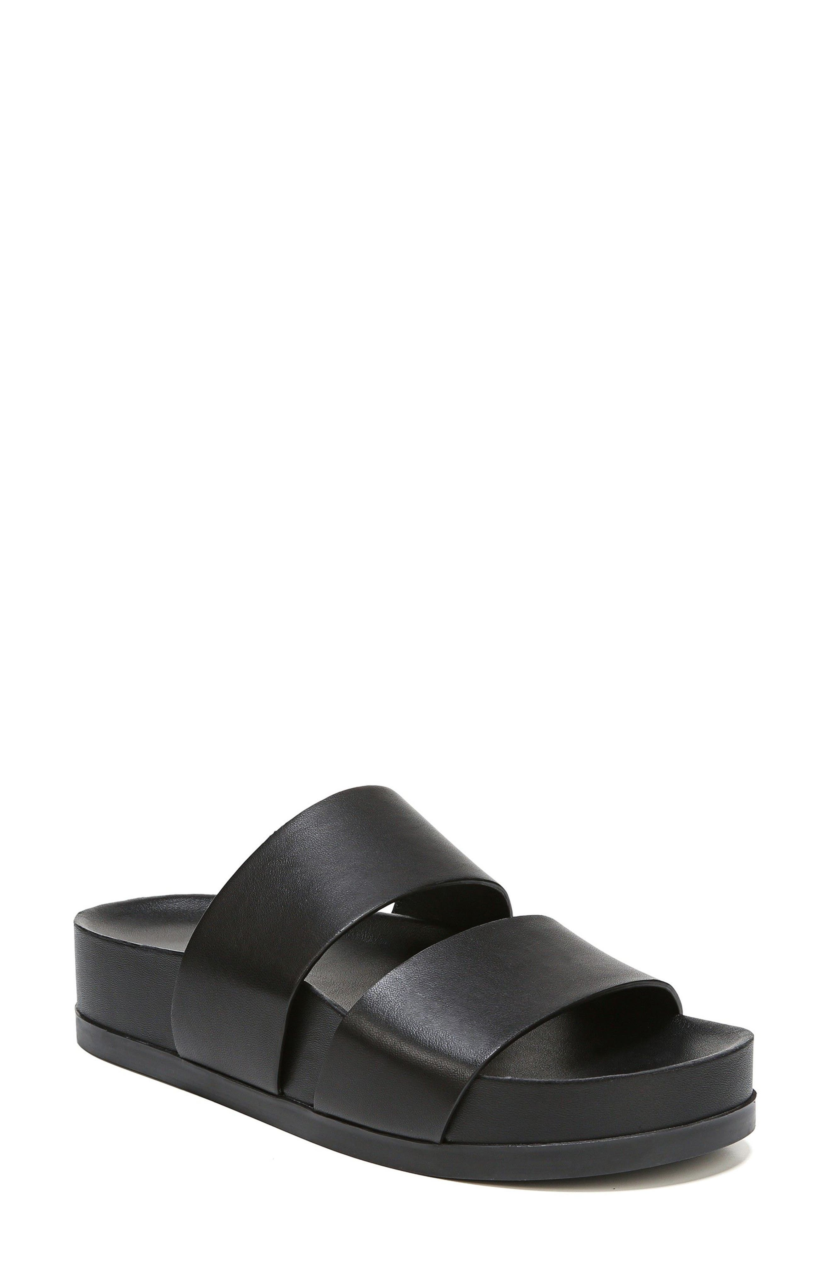VIA SPIGA,                             Milton Slide Sandal,                             Main thumbnail 1, color,                             001