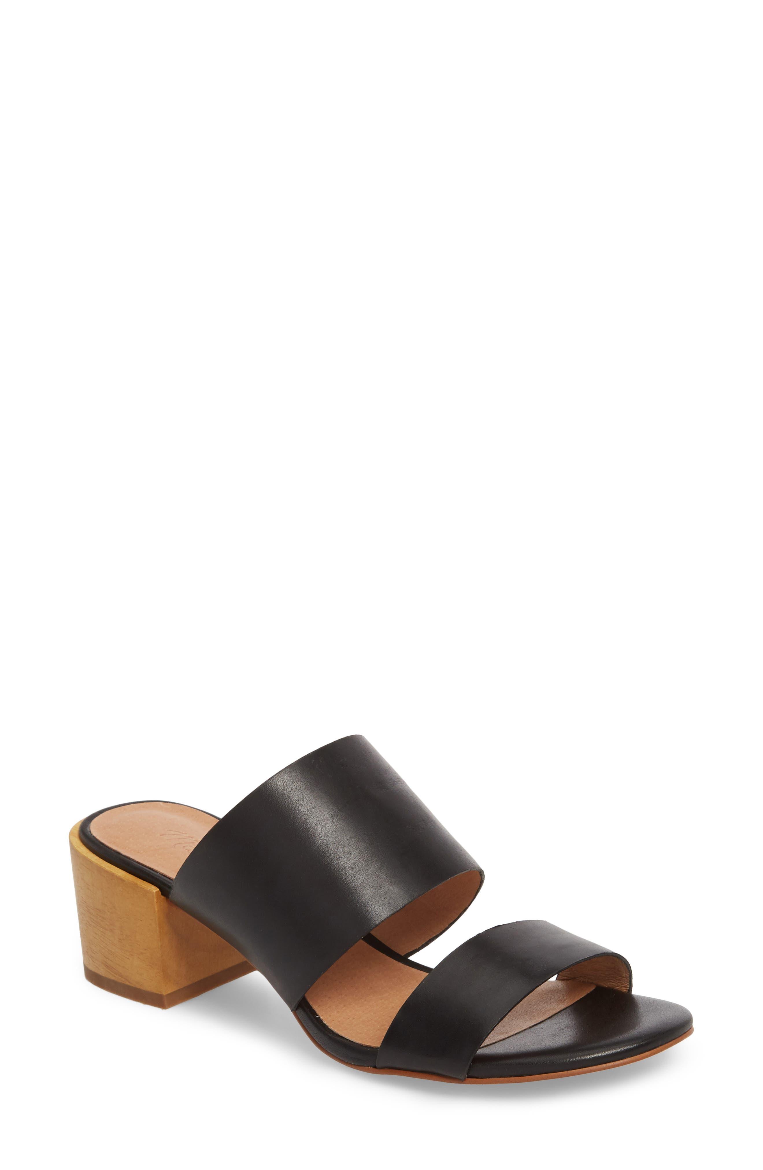 Kiera Block Heel Slide,                         Main,                         color,