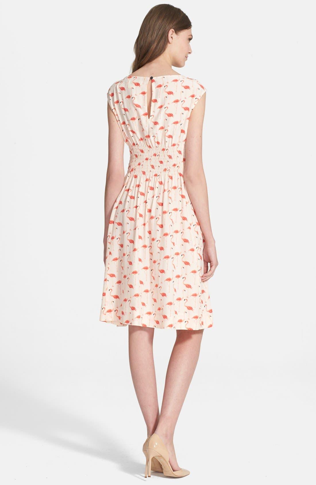 'flamingo blaire' dress,                             Alternate thumbnail 2, color,                             160