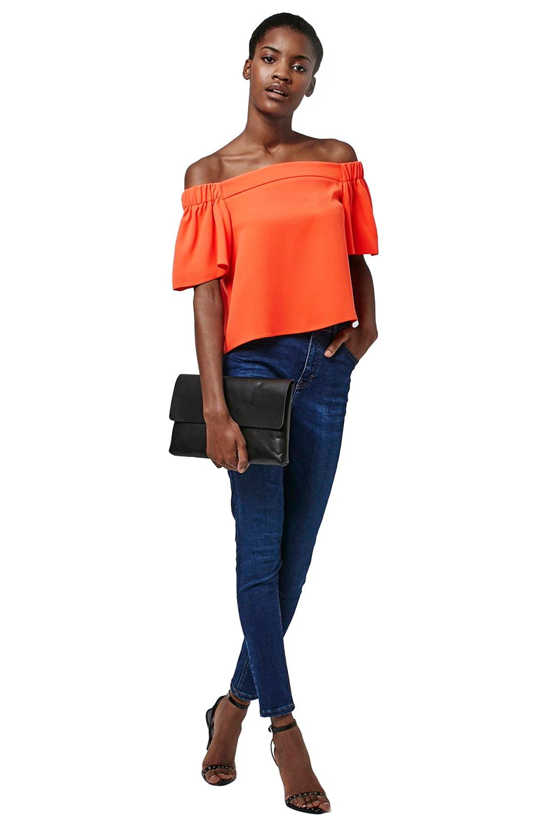 'Livi' Off the Shoulder Top,                             Alternate thumbnail 27, color,