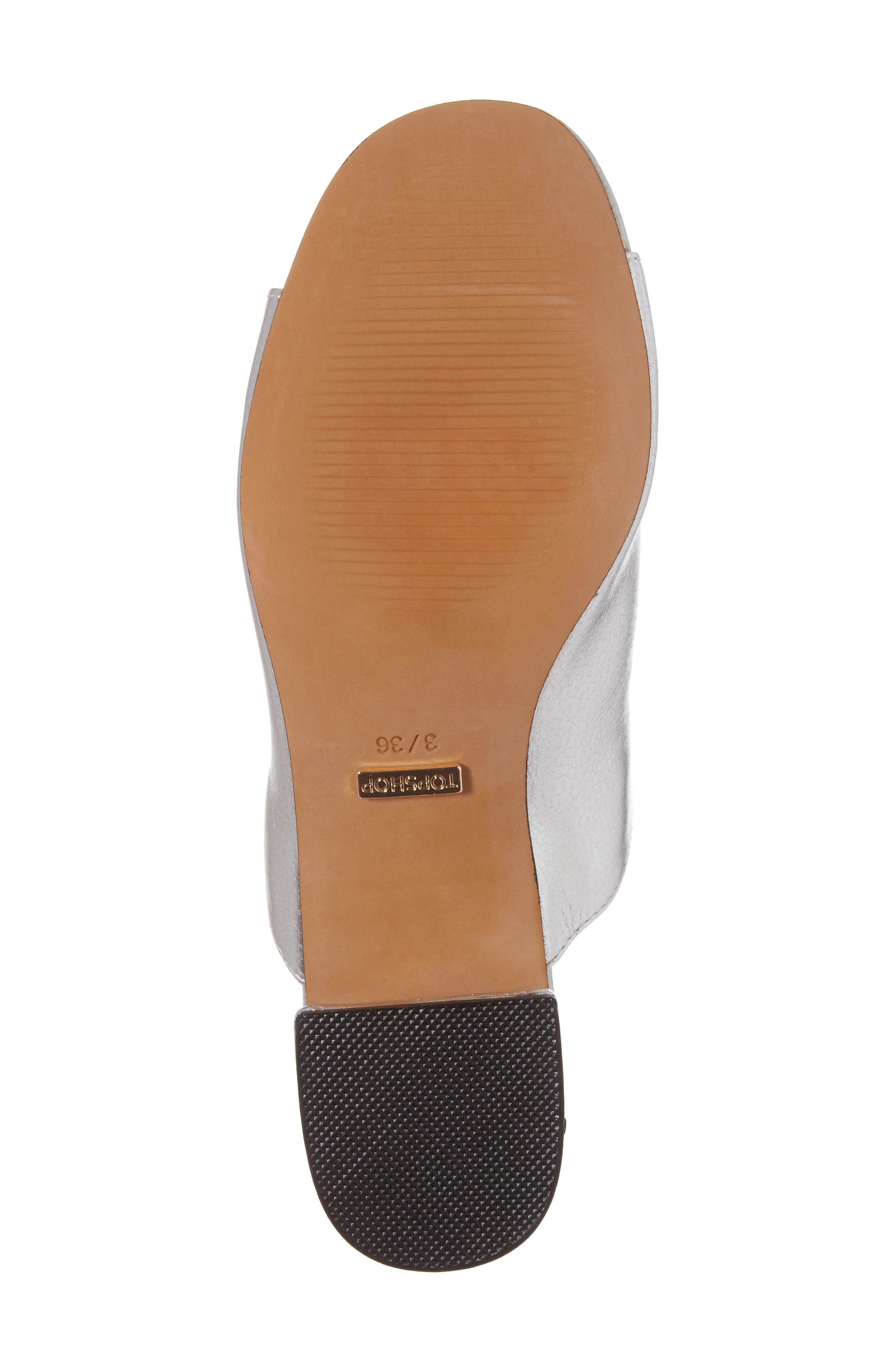 Notorious Metallic Slide Sandal,                             Alternate thumbnail 6, color,                             040