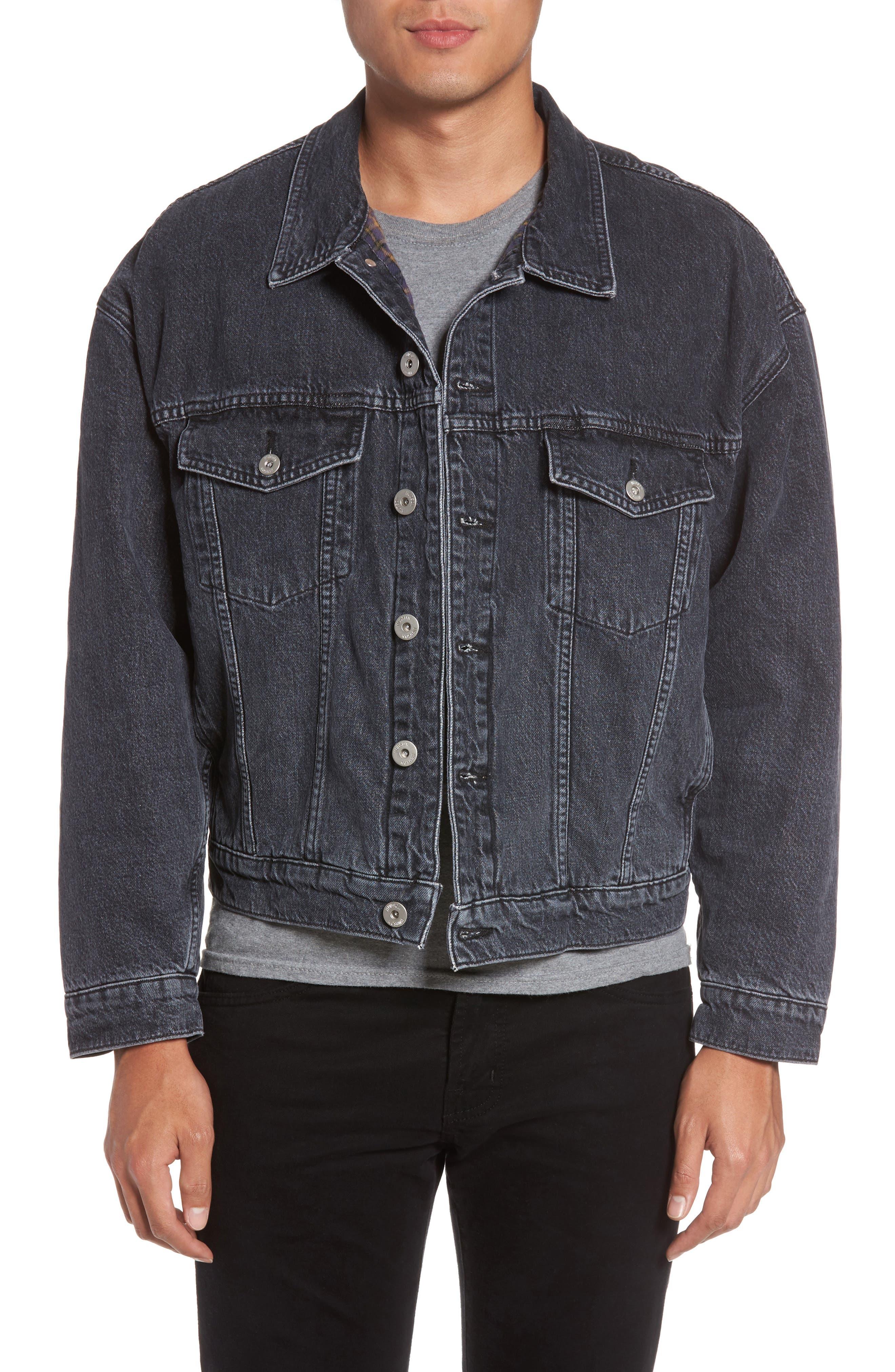 Denim Jacket,                         Main,                         color, 020