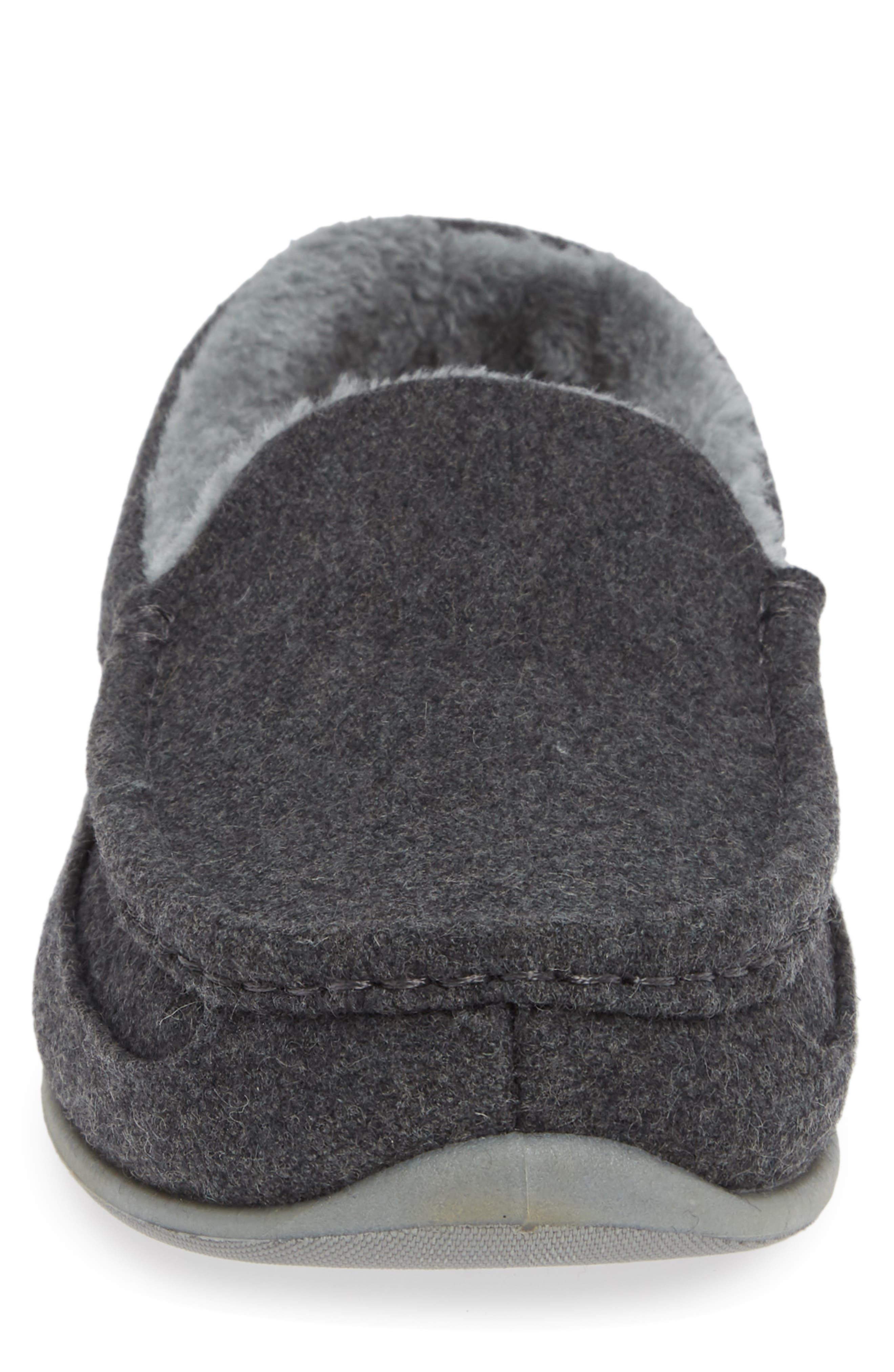 Spun Slipper,                             Alternate thumbnail 4, color,                             DARK GREY