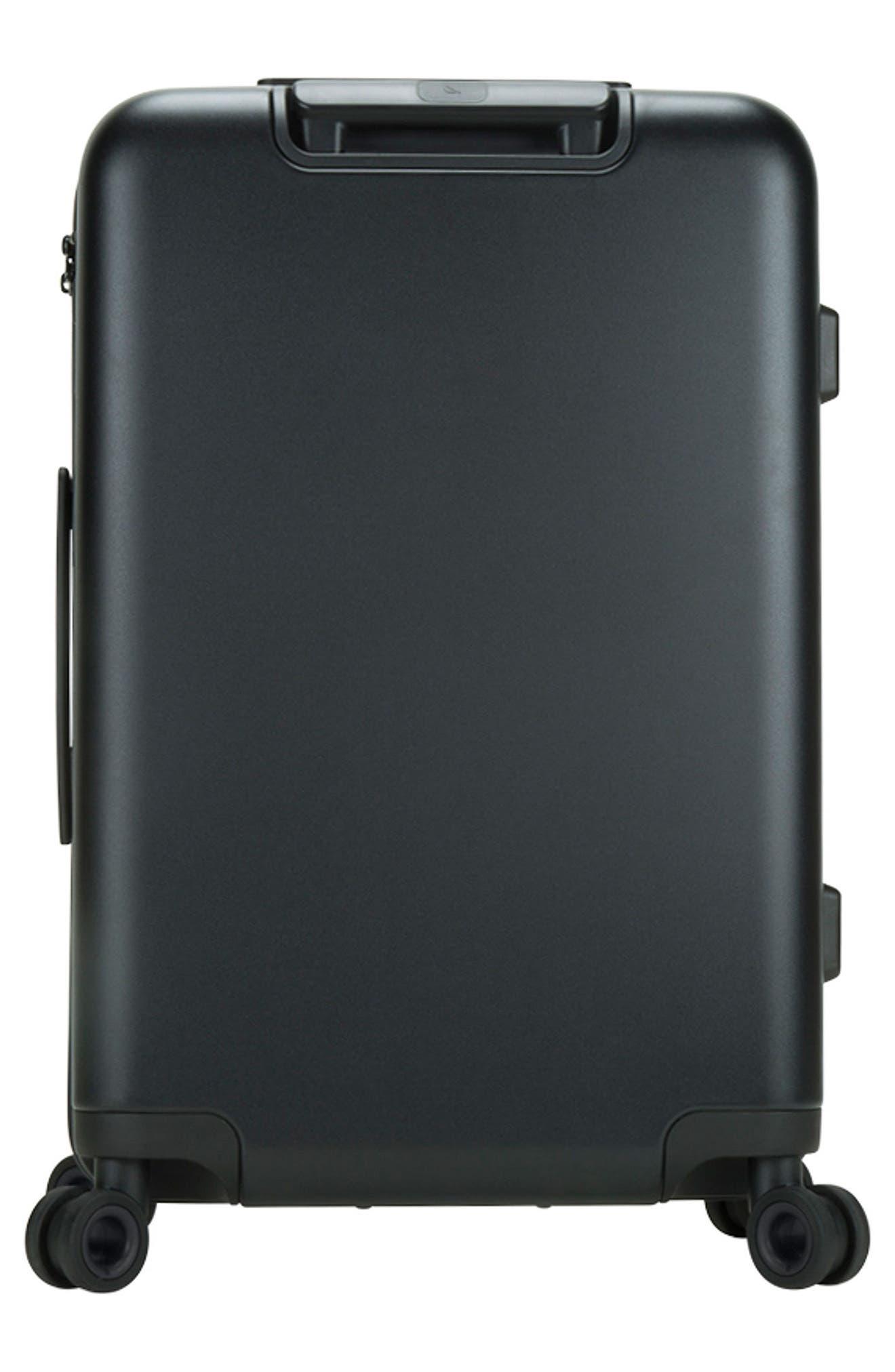 NOVI 31-Inch Hardshell Wheeled Packing Case,                             Alternate thumbnail 4, color,                             BLACK