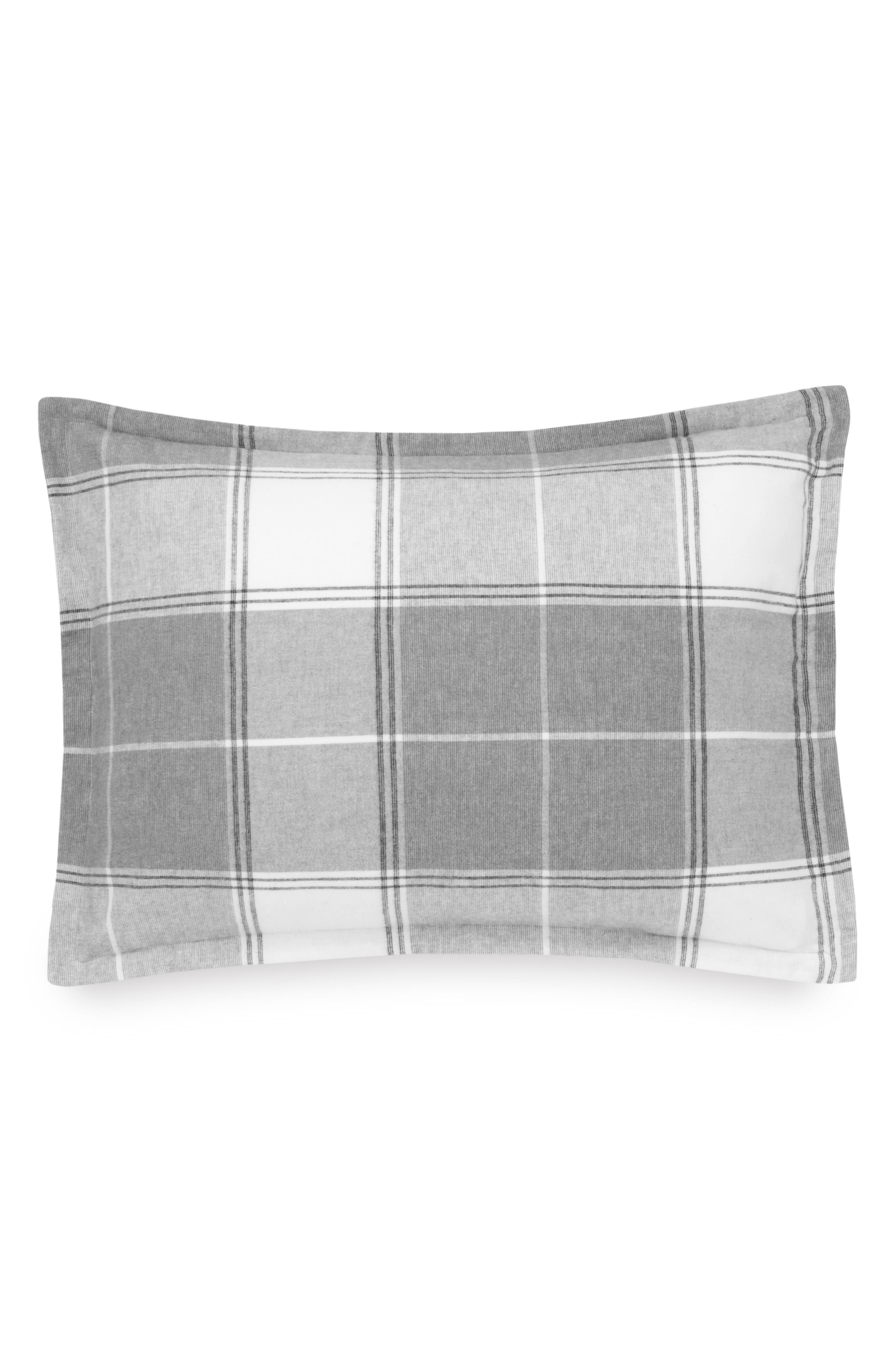 Flannel Luxe Sham,                         Main,                         color, 021