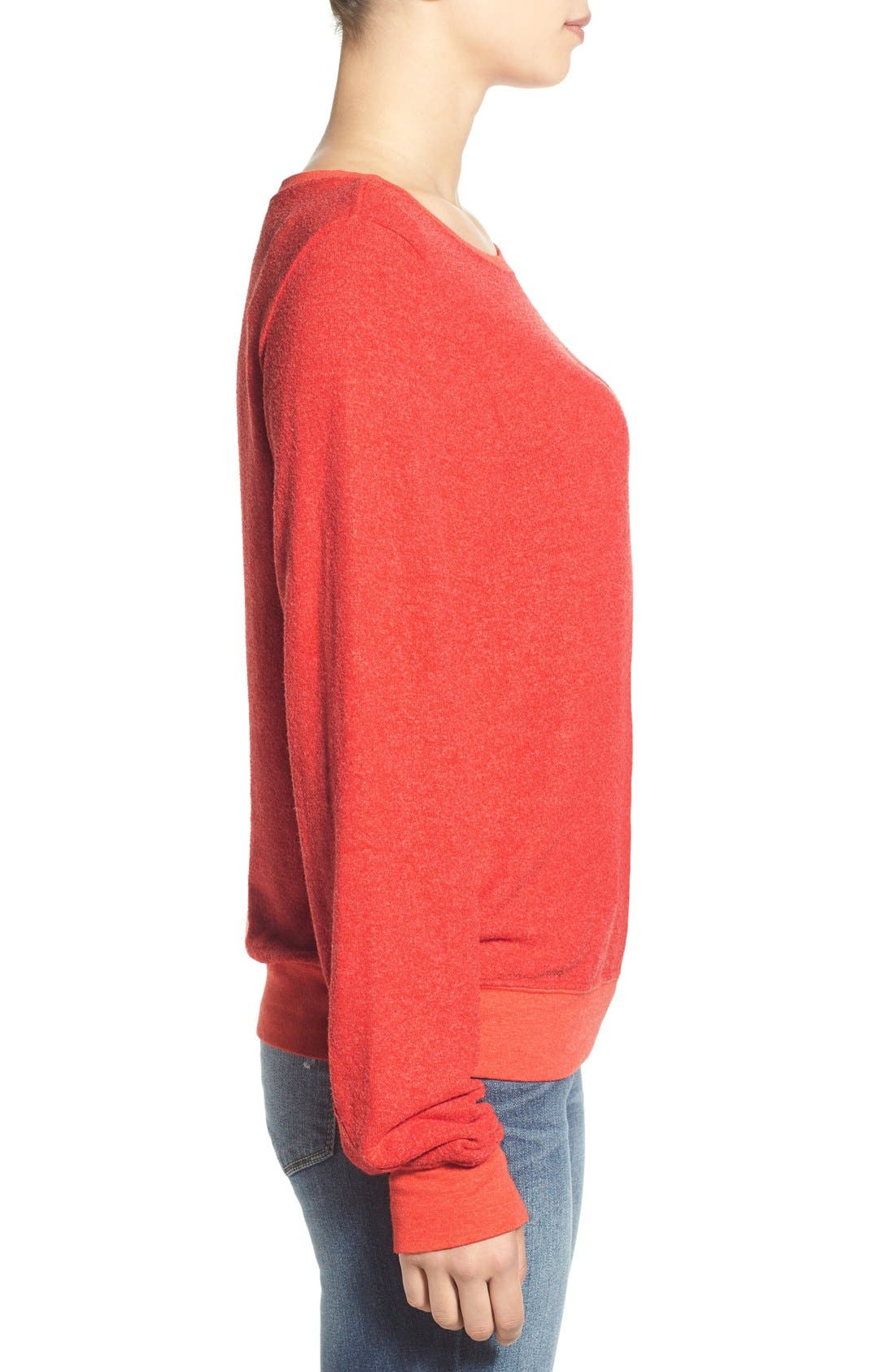 'Baggy Beach Jumper' Pullover,                             Alternate thumbnail 176, color,