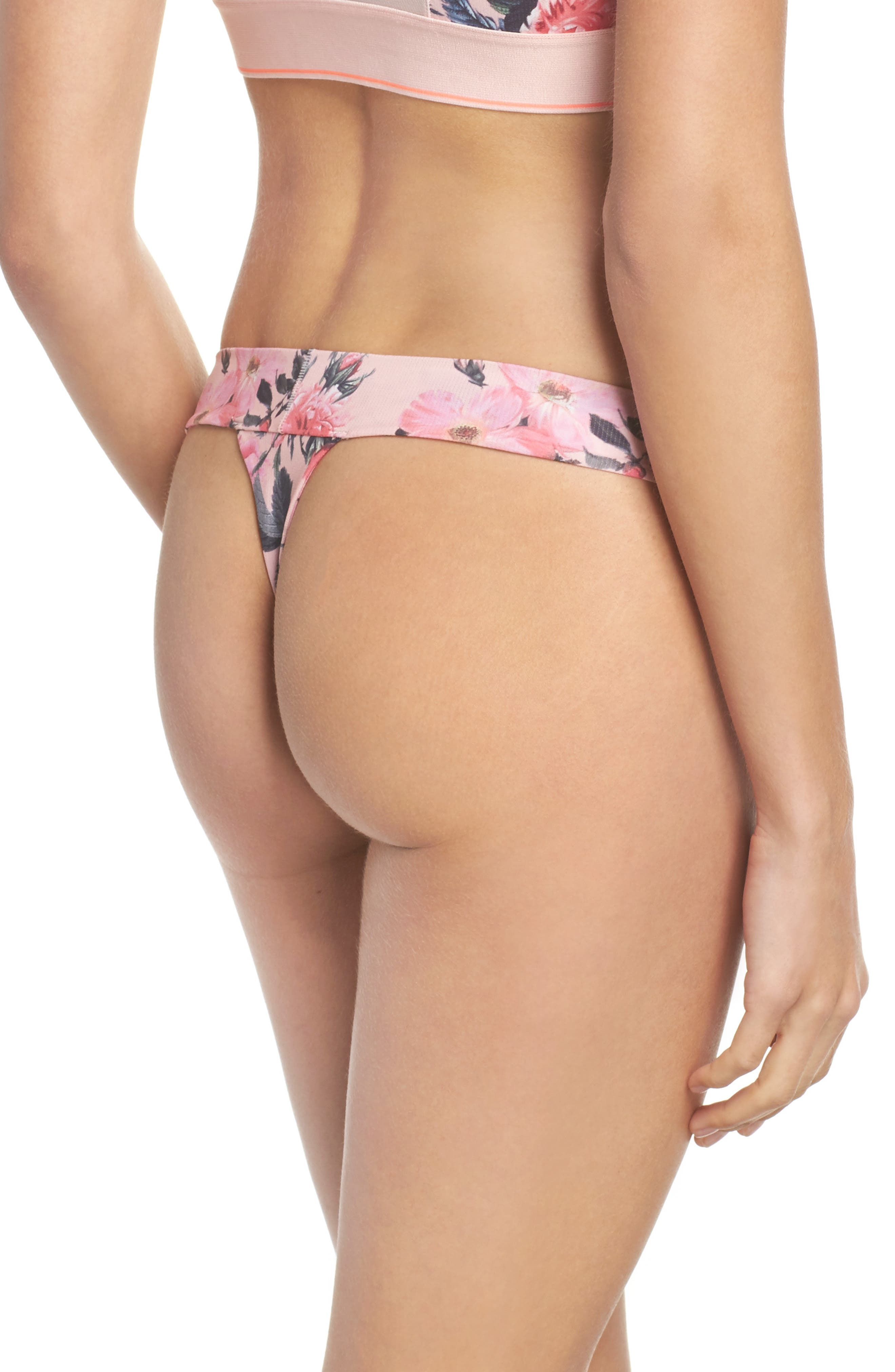 Floral Thong,                             Alternate thumbnail 2, color,                             650