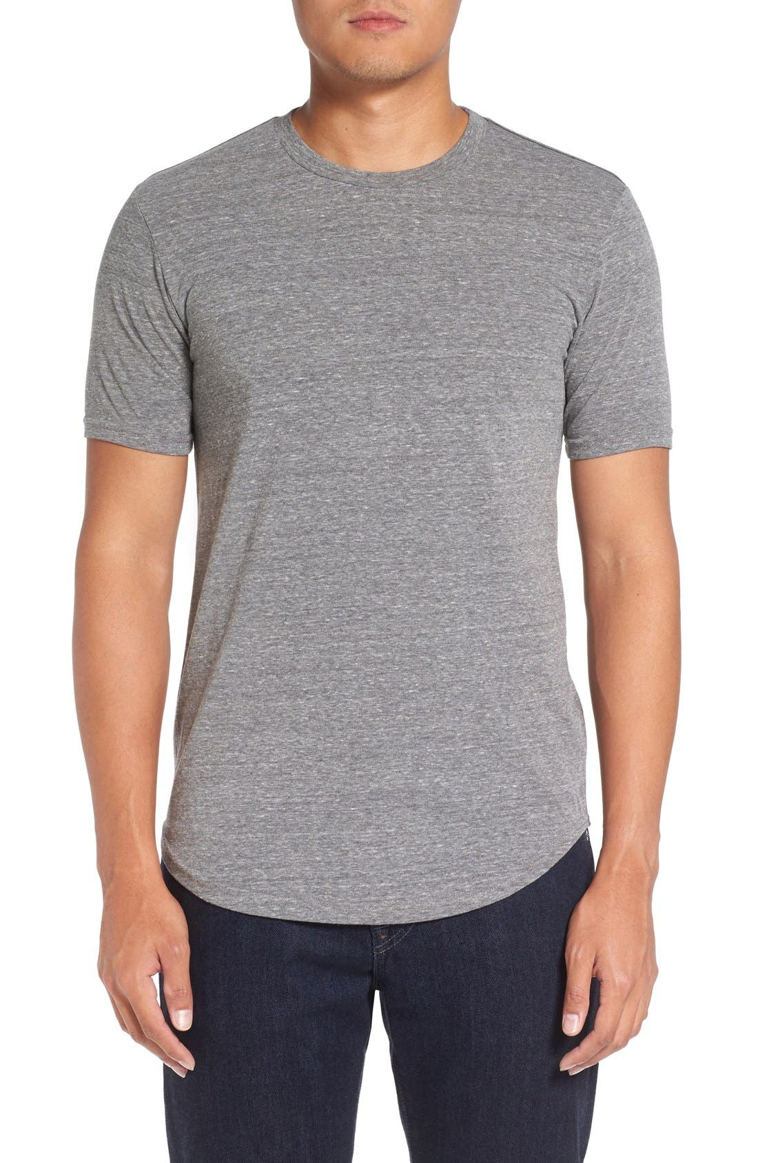 Scallop Triblend Crewneck T-Shirt,                             Main thumbnail 16, color,