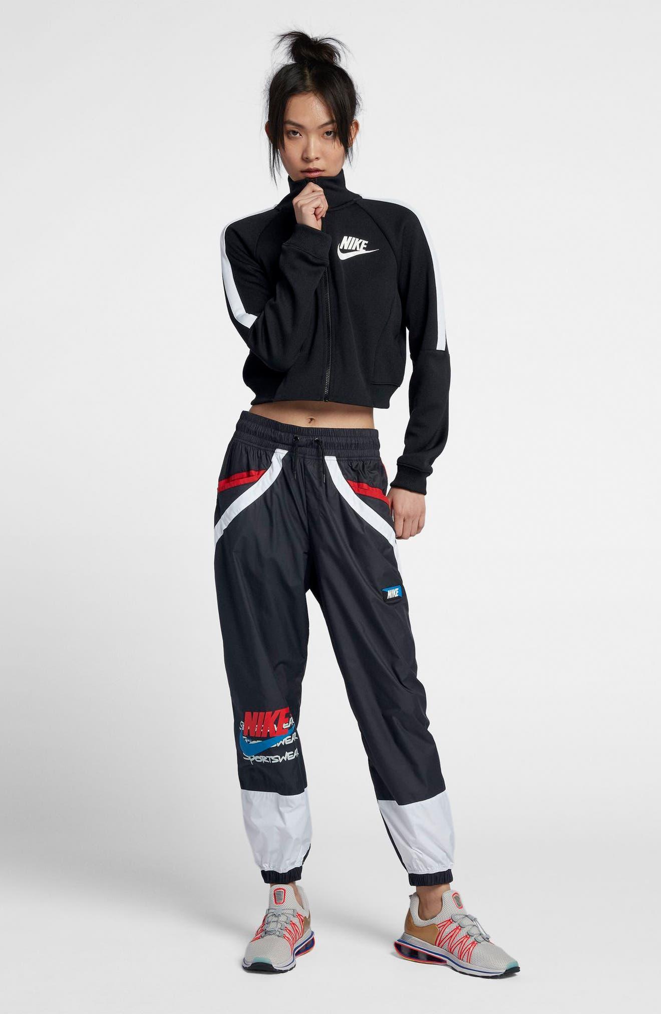 Sportswear Women's Woven Moto Pants,                             Alternate thumbnail 5, color,