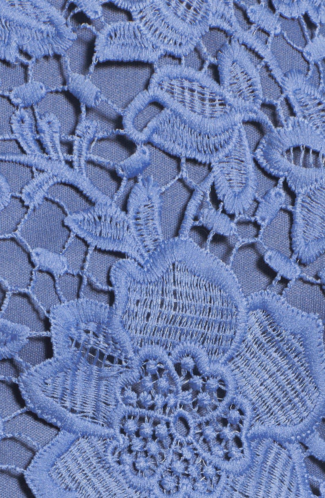 'Samantha' Lace Dress,                             Alternate thumbnail 11, color,