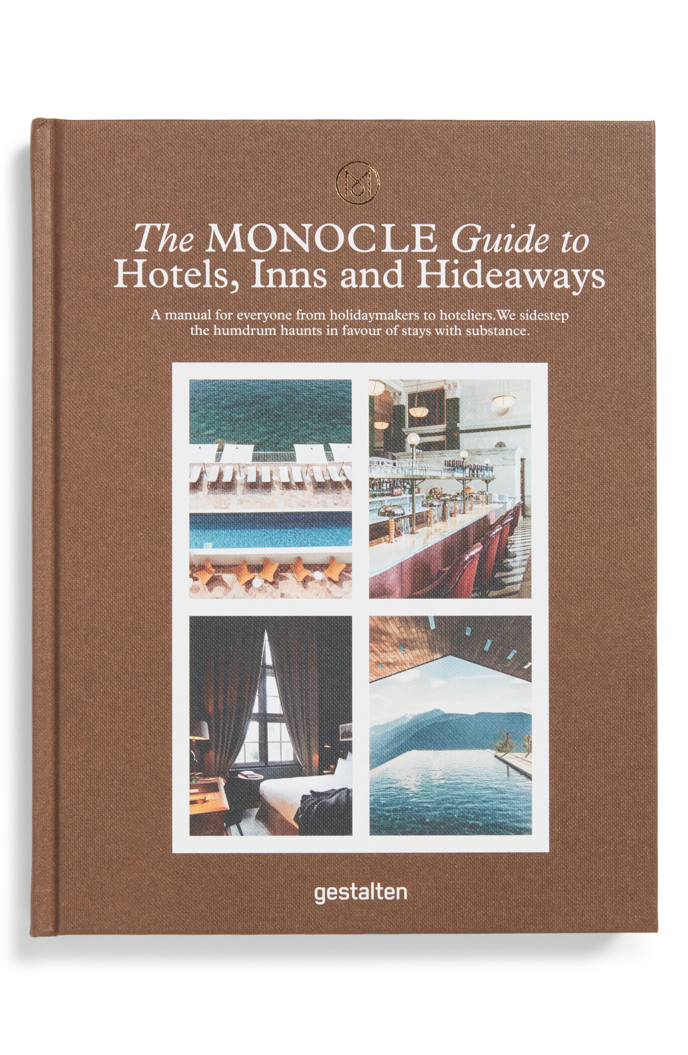 Guide to Hotels, Inns & Hideaways Book, Main, color, BROWN