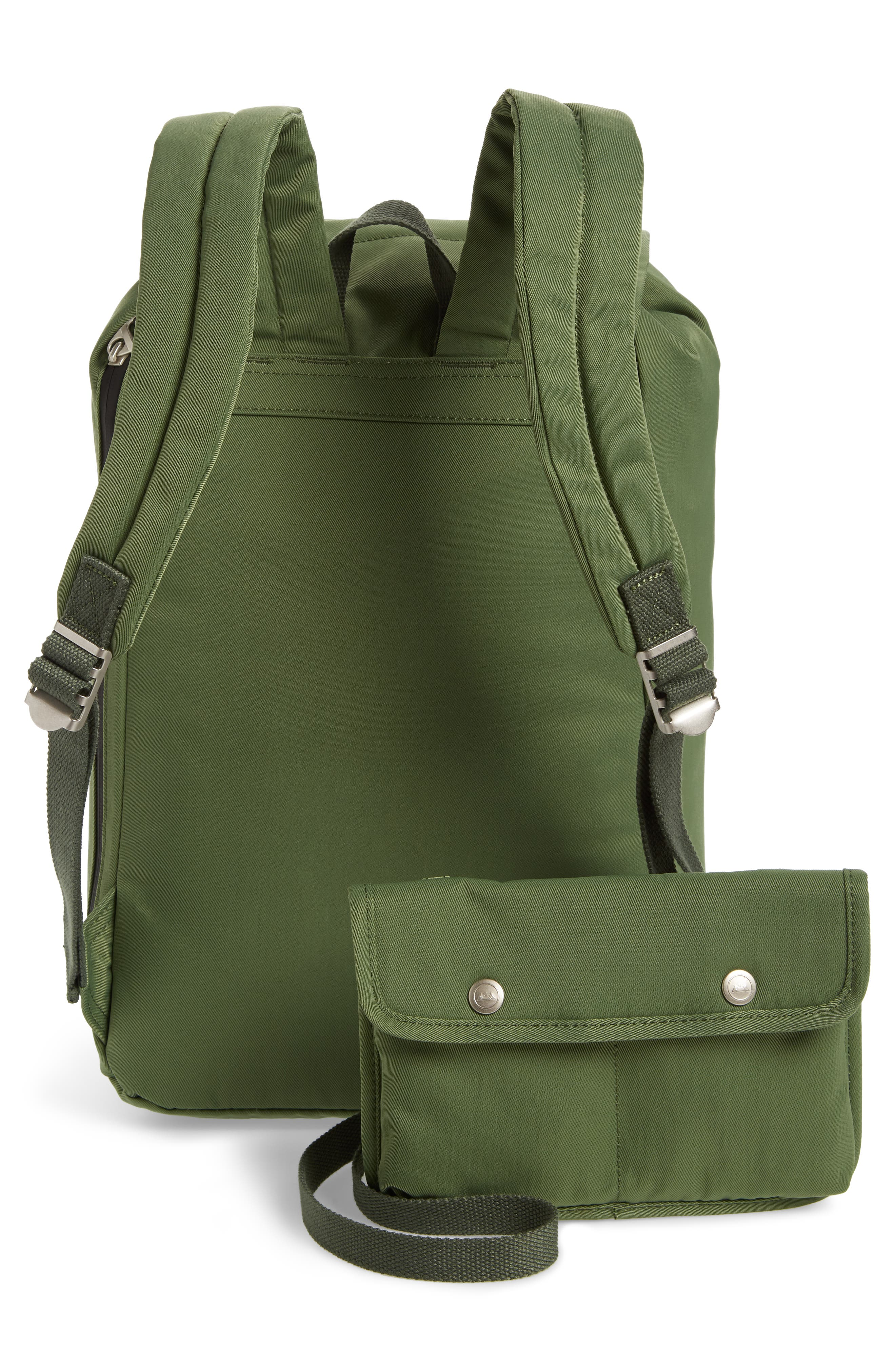 Montana Water Repellent Backpack,                             Alternate thumbnail 3, color,                             ARMY