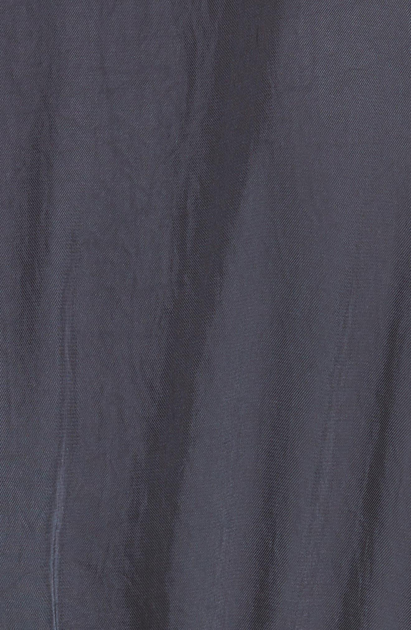 Mixed Media Midi Dress,                             Alternate thumbnail 5, color,                             403