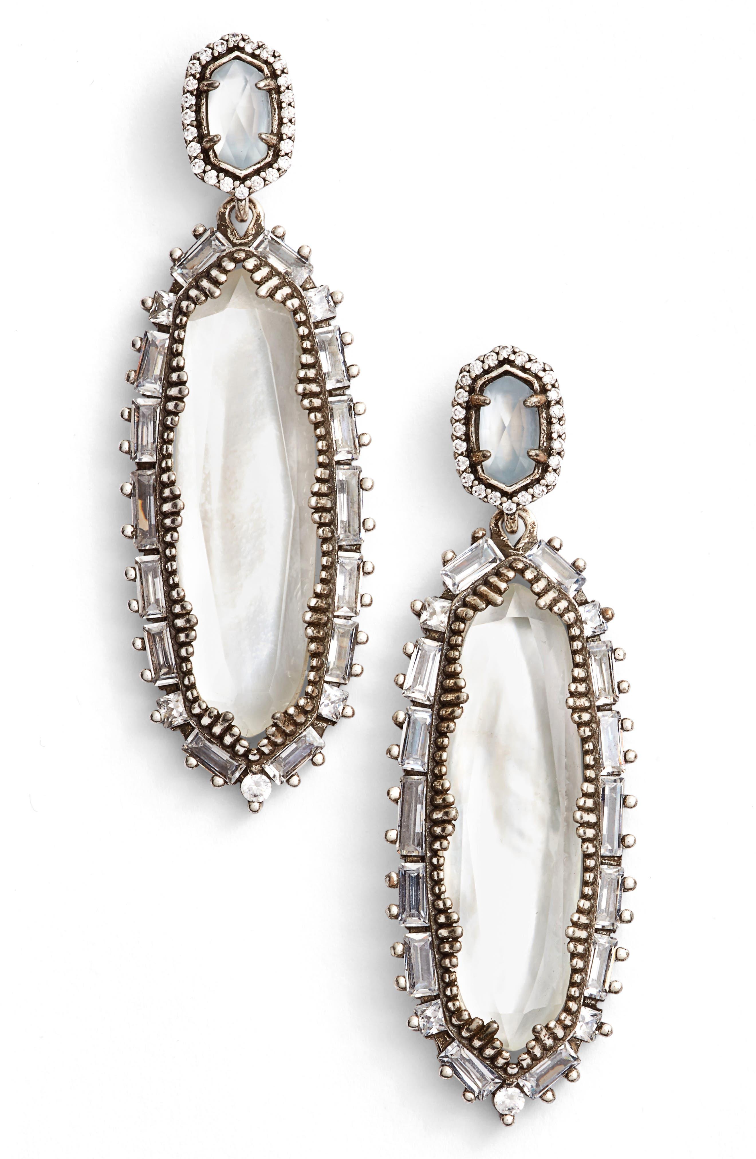 'Kalina' Drop Earrings,                         Main,                         color, 020