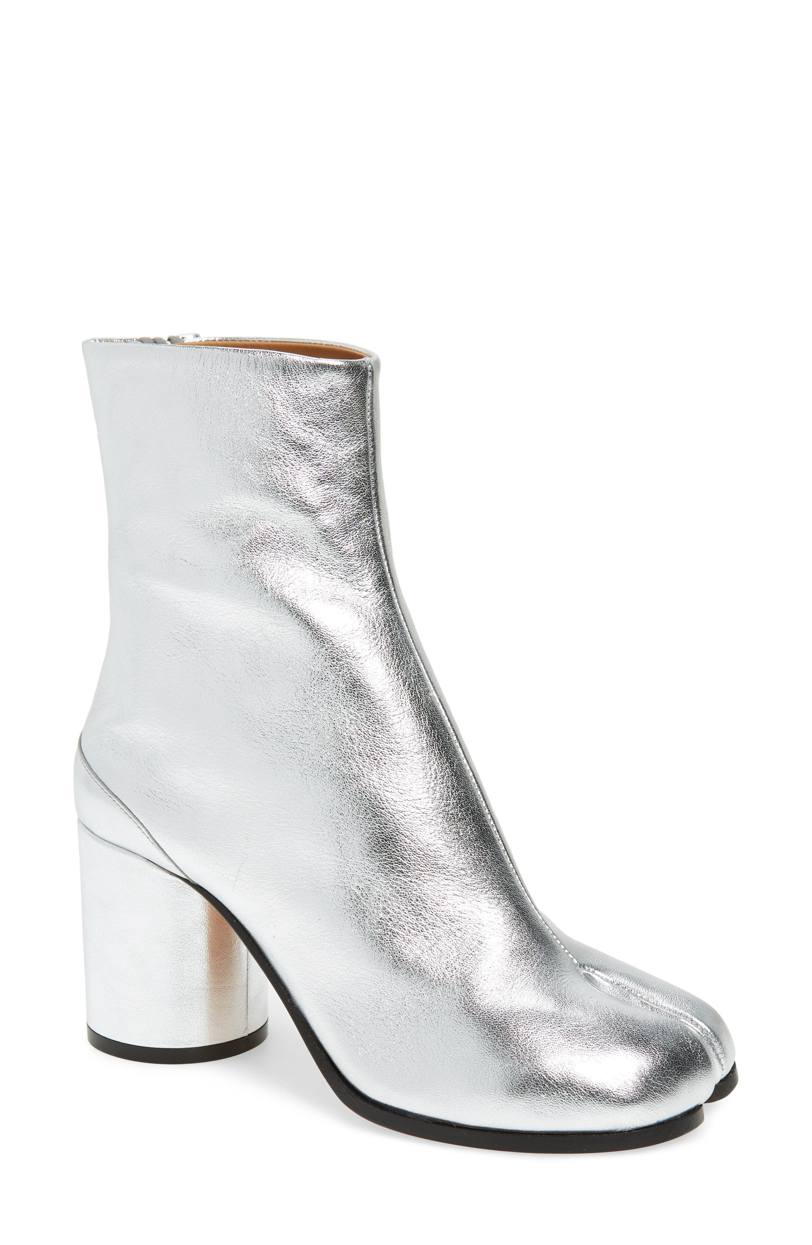 Maison Margiela Tabi Metallic Boot, Metallic