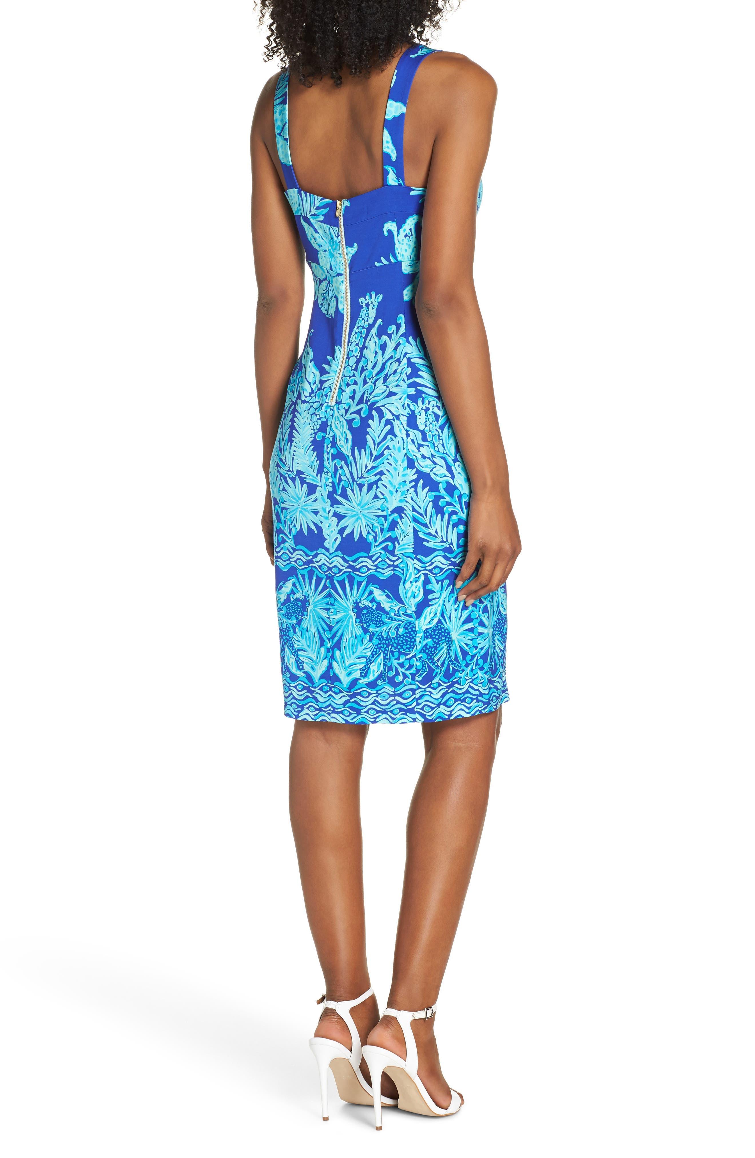 Annalee Body-Con Dress,                             Alternate thumbnail 2, color,                             400