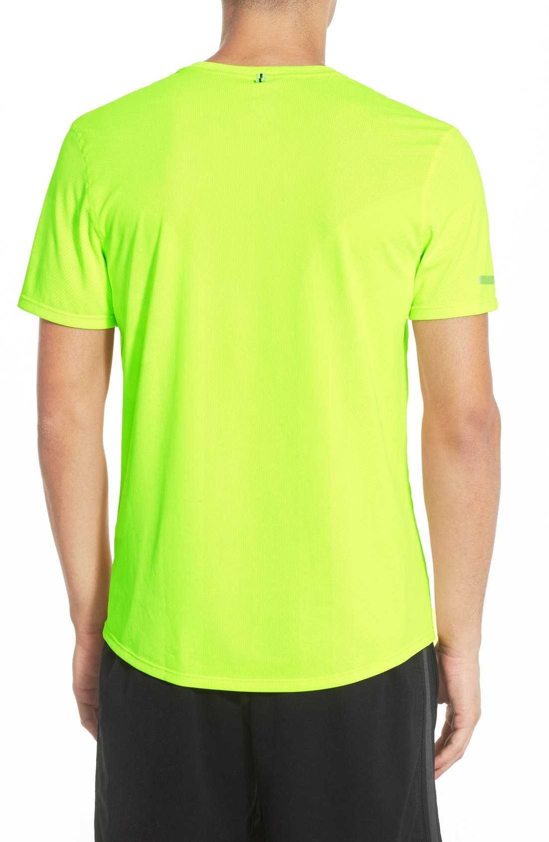 'Contour' Mesh Dri-FIT Running T-Shirt,                             Alternate thumbnail 13, color,