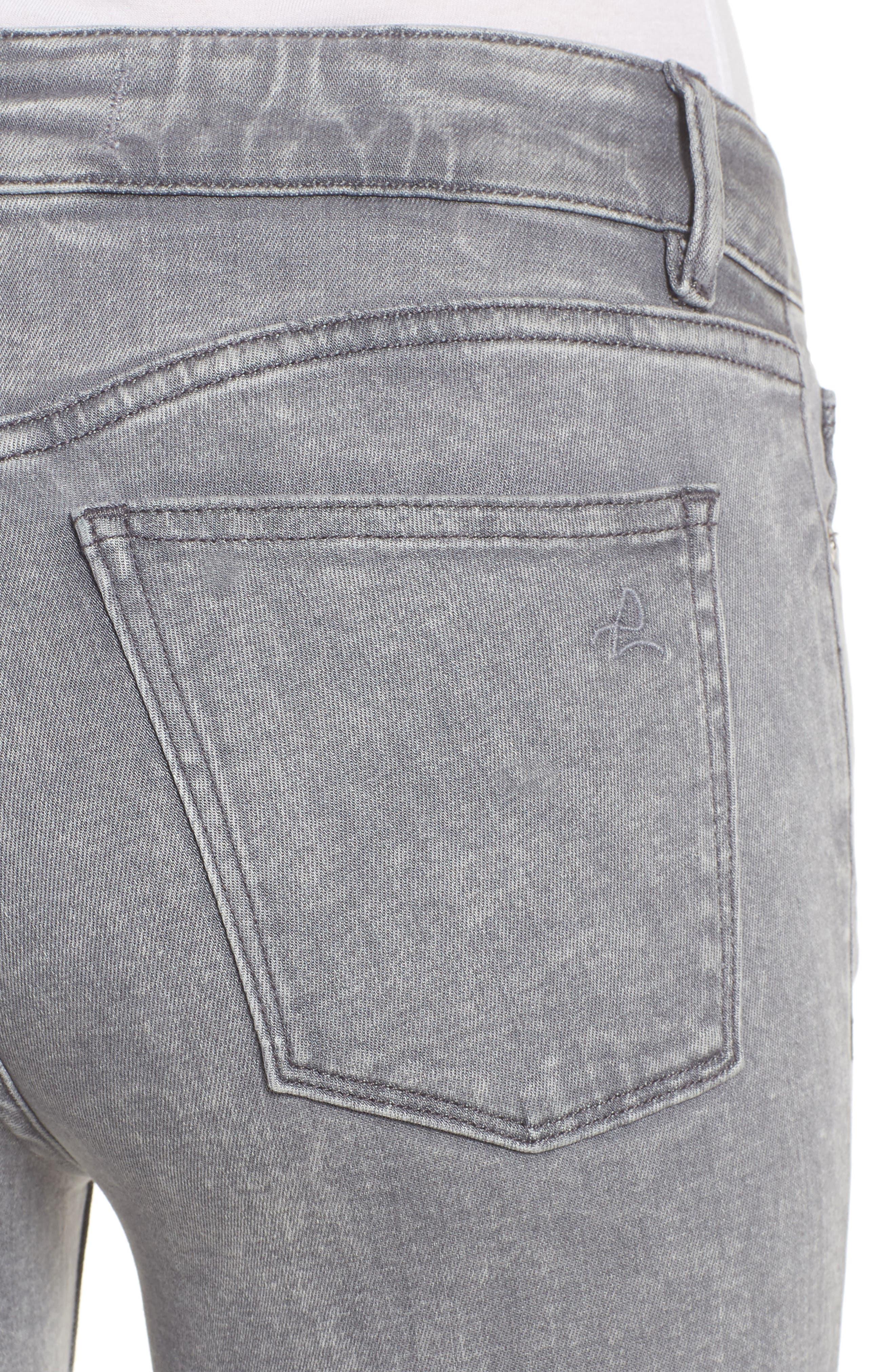 Florence Instasculpt Crop Skinny Jeans,                             Alternate thumbnail 4, color,                             430