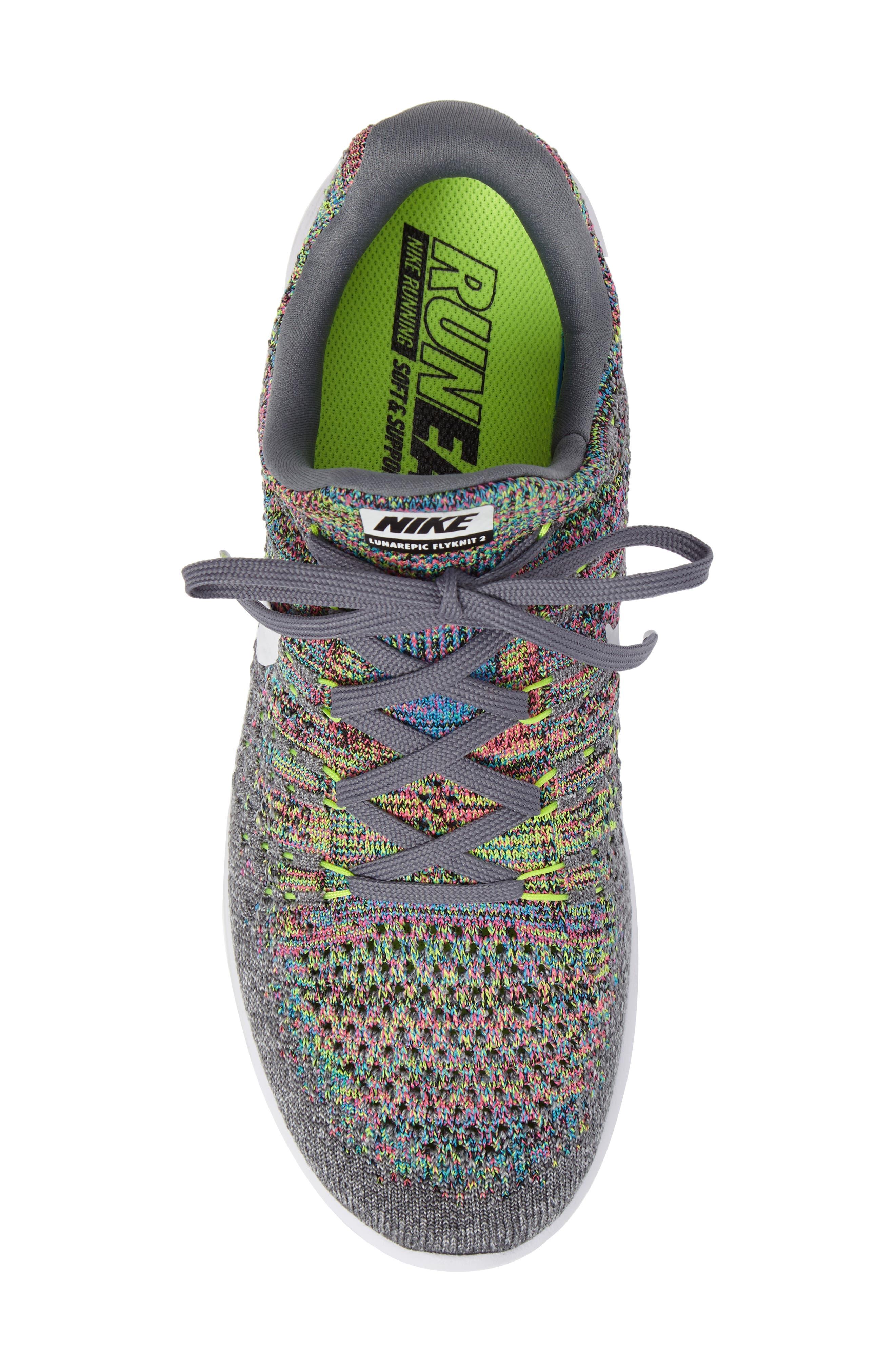 LunarEpic Low Flyknit 2 Running Shoe,                             Alternate thumbnail 76, color,
