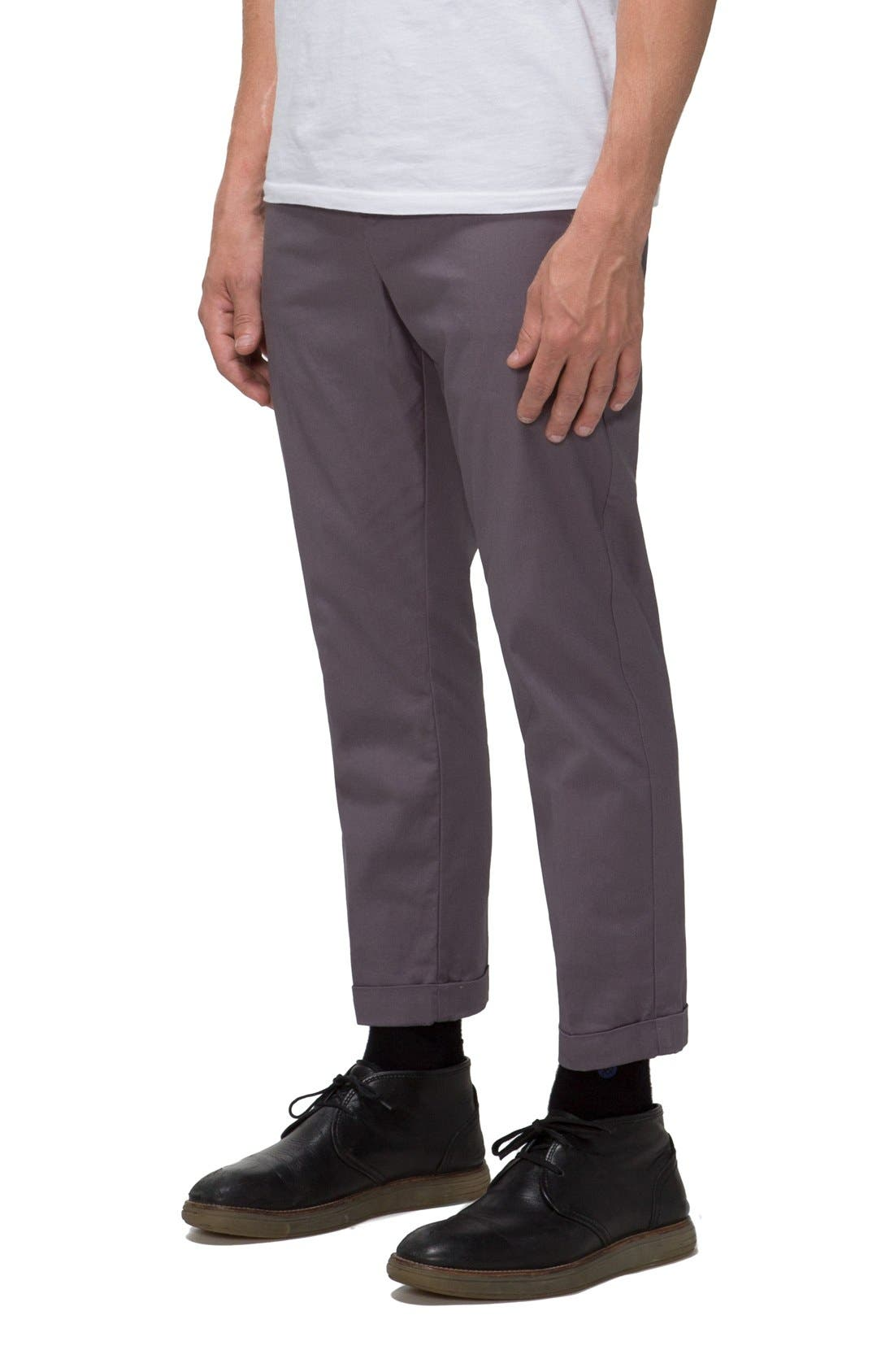 'Arroyo' Crop Stretch Chinos,                             Alternate thumbnail 7, color,