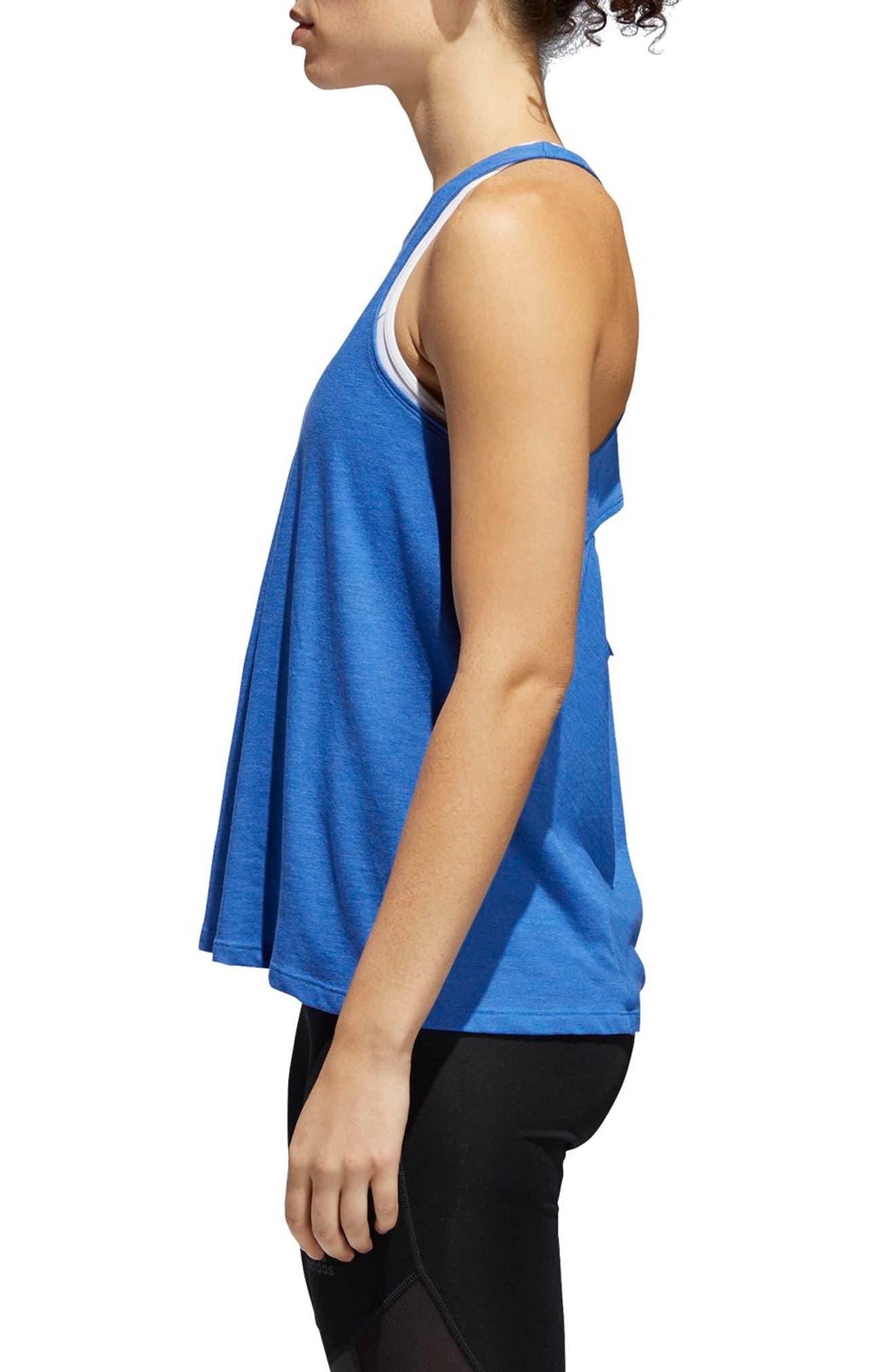 Performer Open Back Tank,                             Alternate thumbnail 9, color,