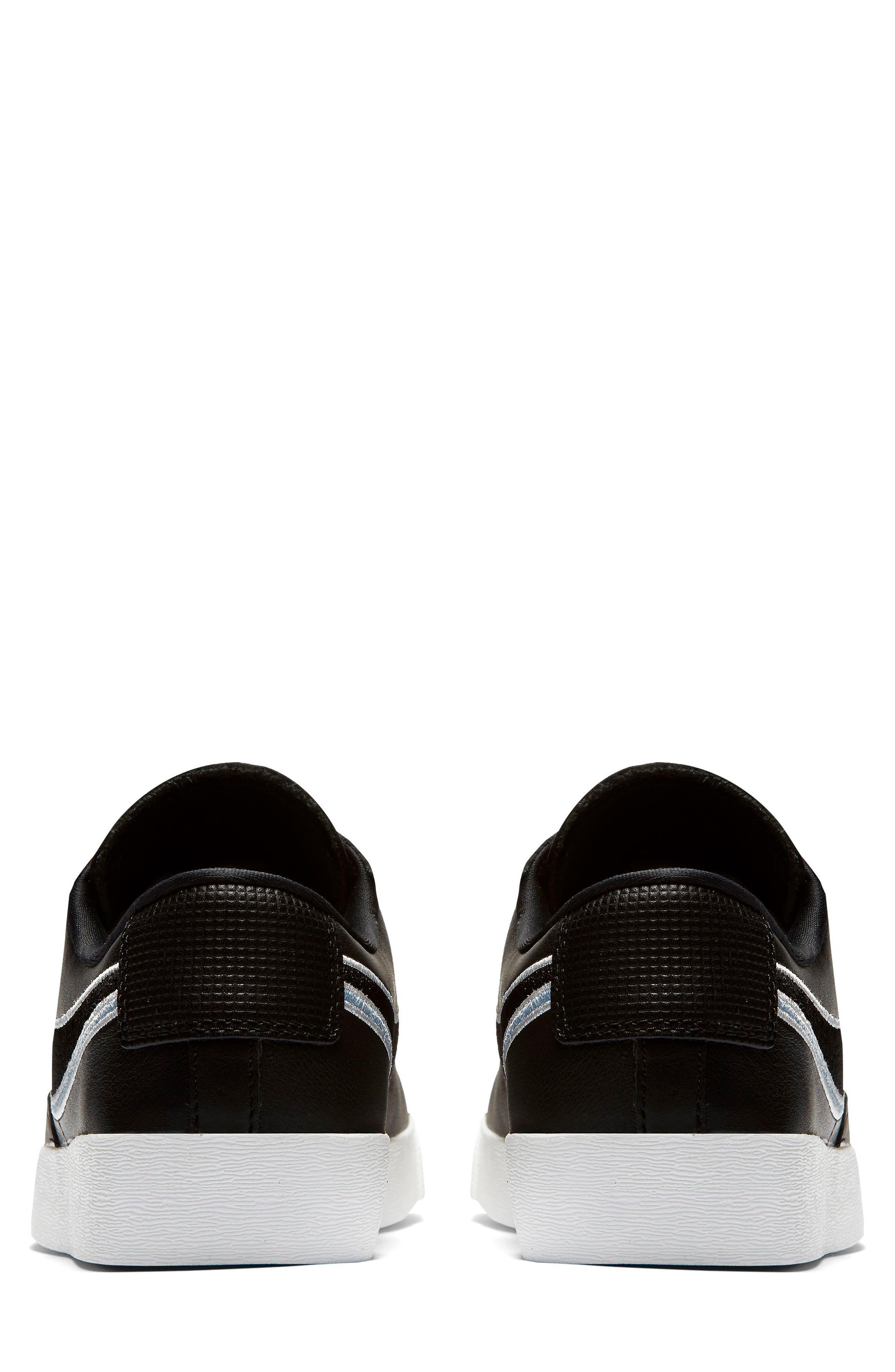 Blazer Low LX Sneaker,                             Alternate thumbnail 2, color,                             BLACK/ ROYAL TINT/ MONARCH