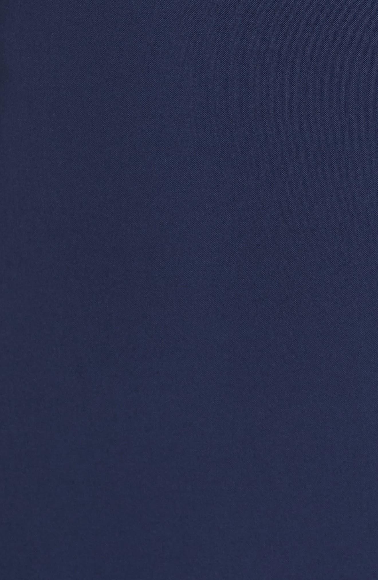 Goa Cover-Up Maxi Wrap Dress,                             Alternate thumbnail 5, color,                             MIDNIGHT BLUE