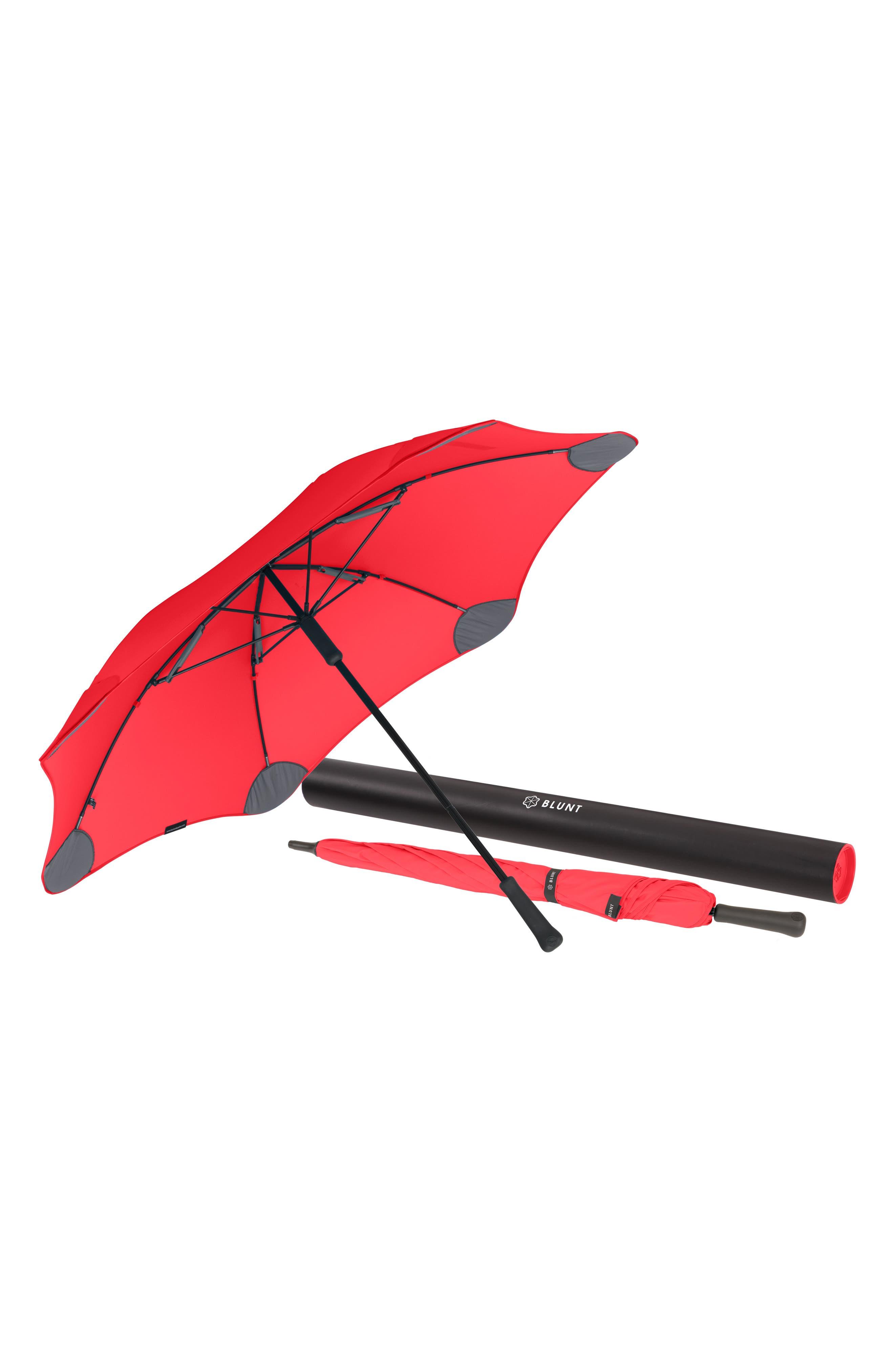 Classic Umbrella,                             Alternate thumbnail 5, color,                             RED