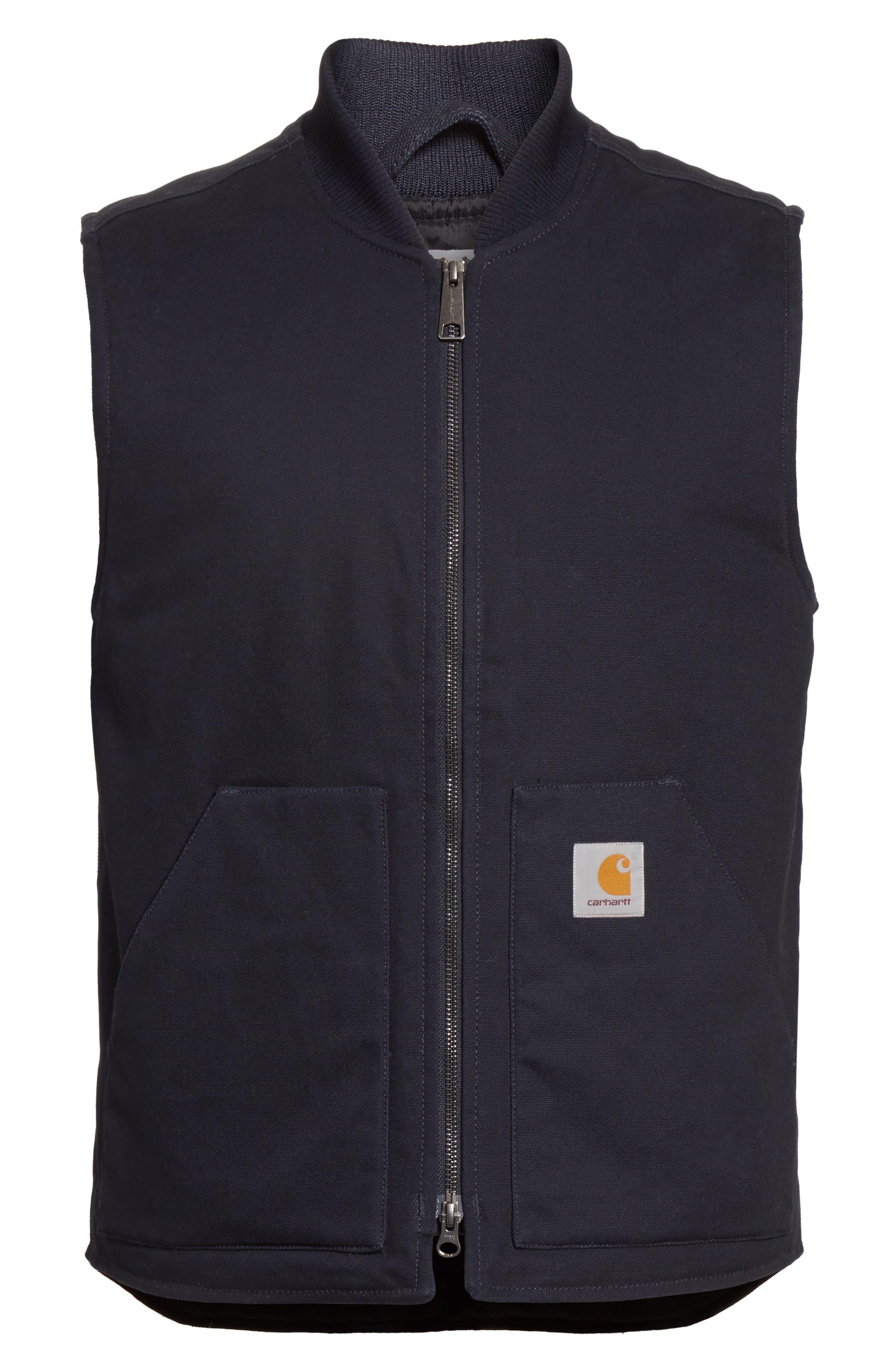 Canvas Vest,                             Alternate thumbnail 2, color,