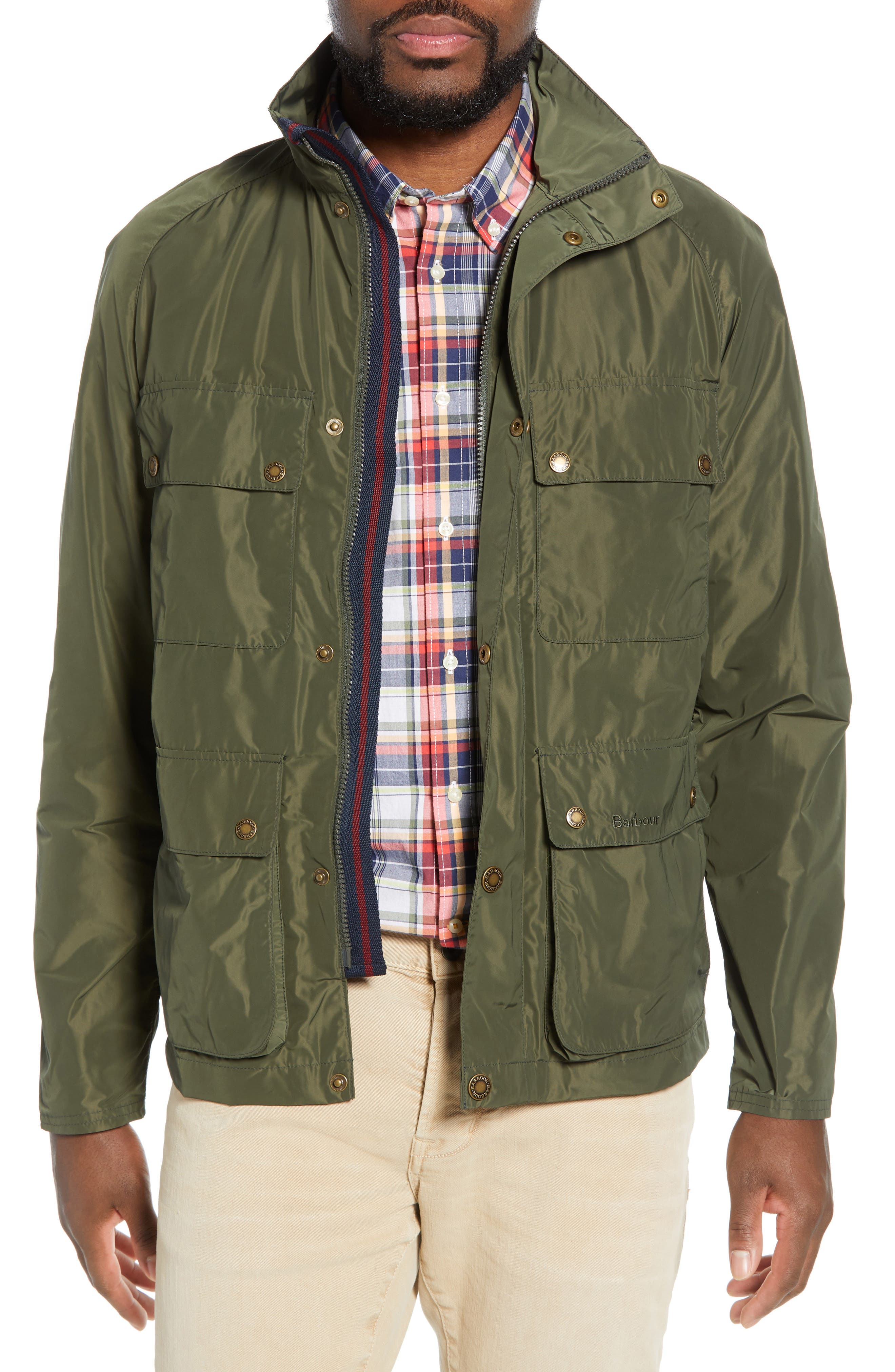 Barbour Inchkeith Taoilored Fit Jacket, Green