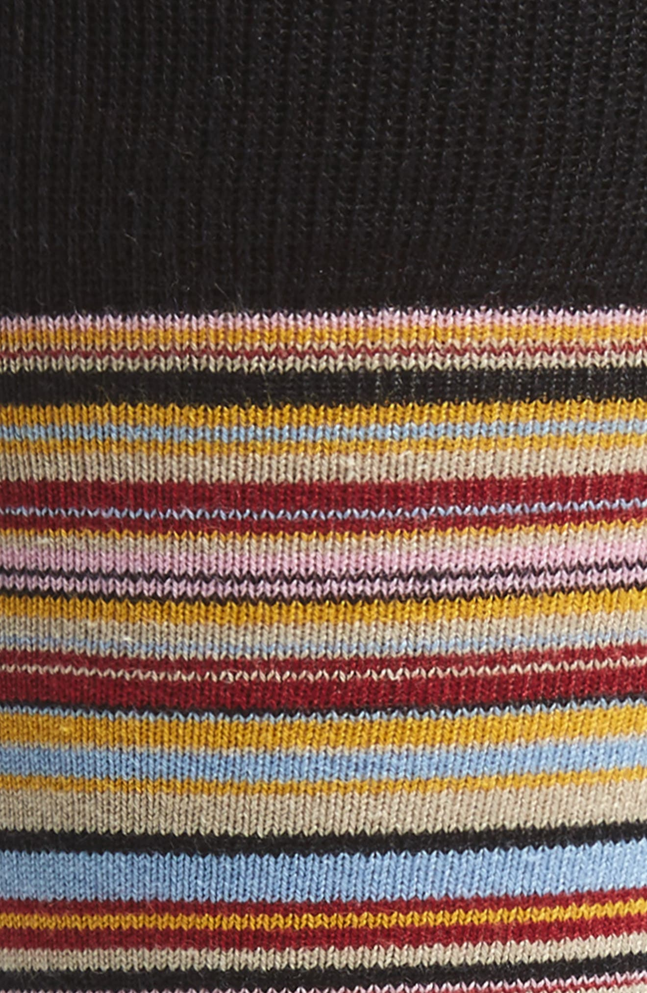 Stripe Socks,                             Alternate thumbnail 2, color,                             001