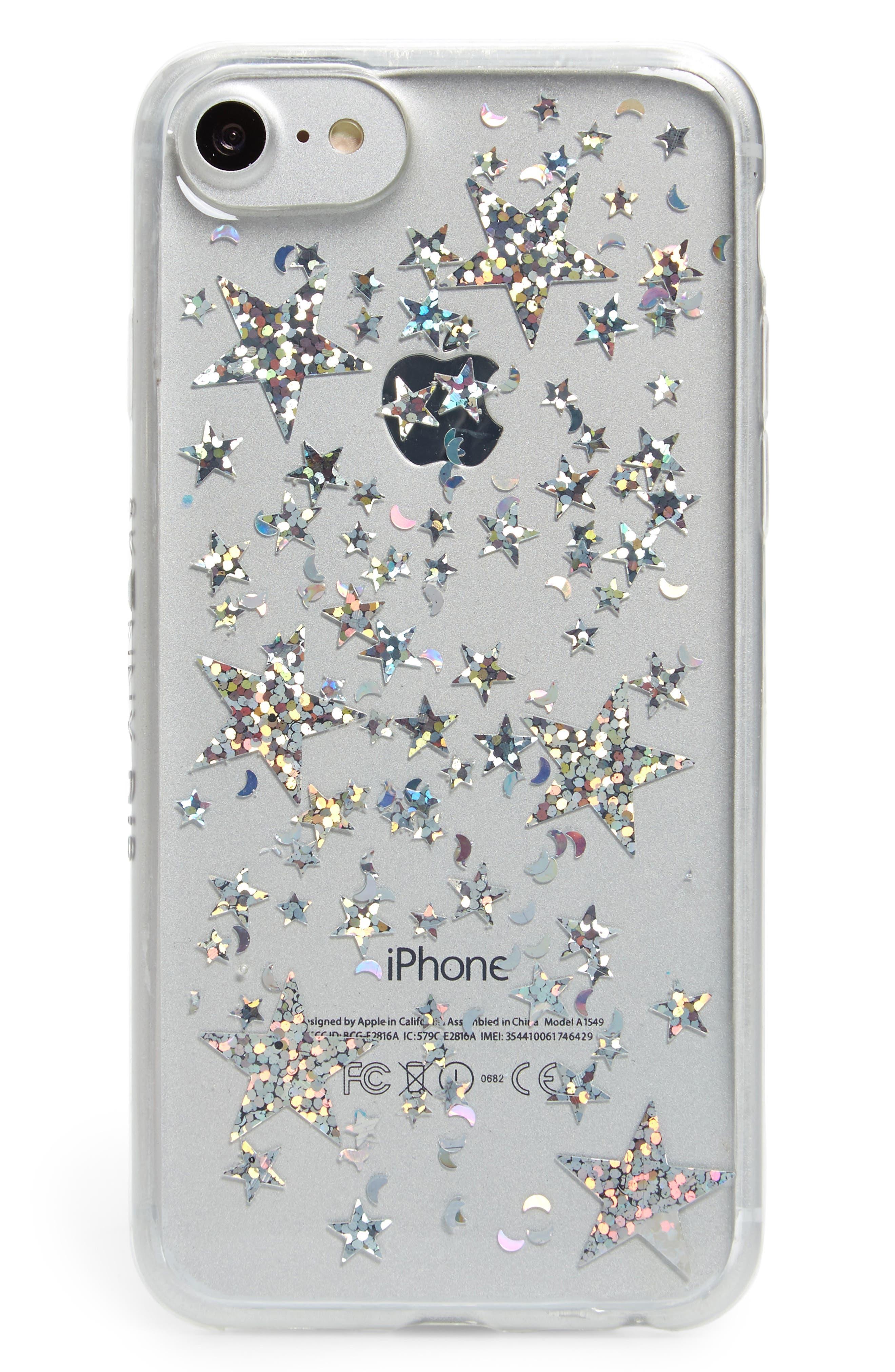 Skinny Dip Starship iPhone 6/6s/7/8 Plus Case,                             Main thumbnail 1, color,