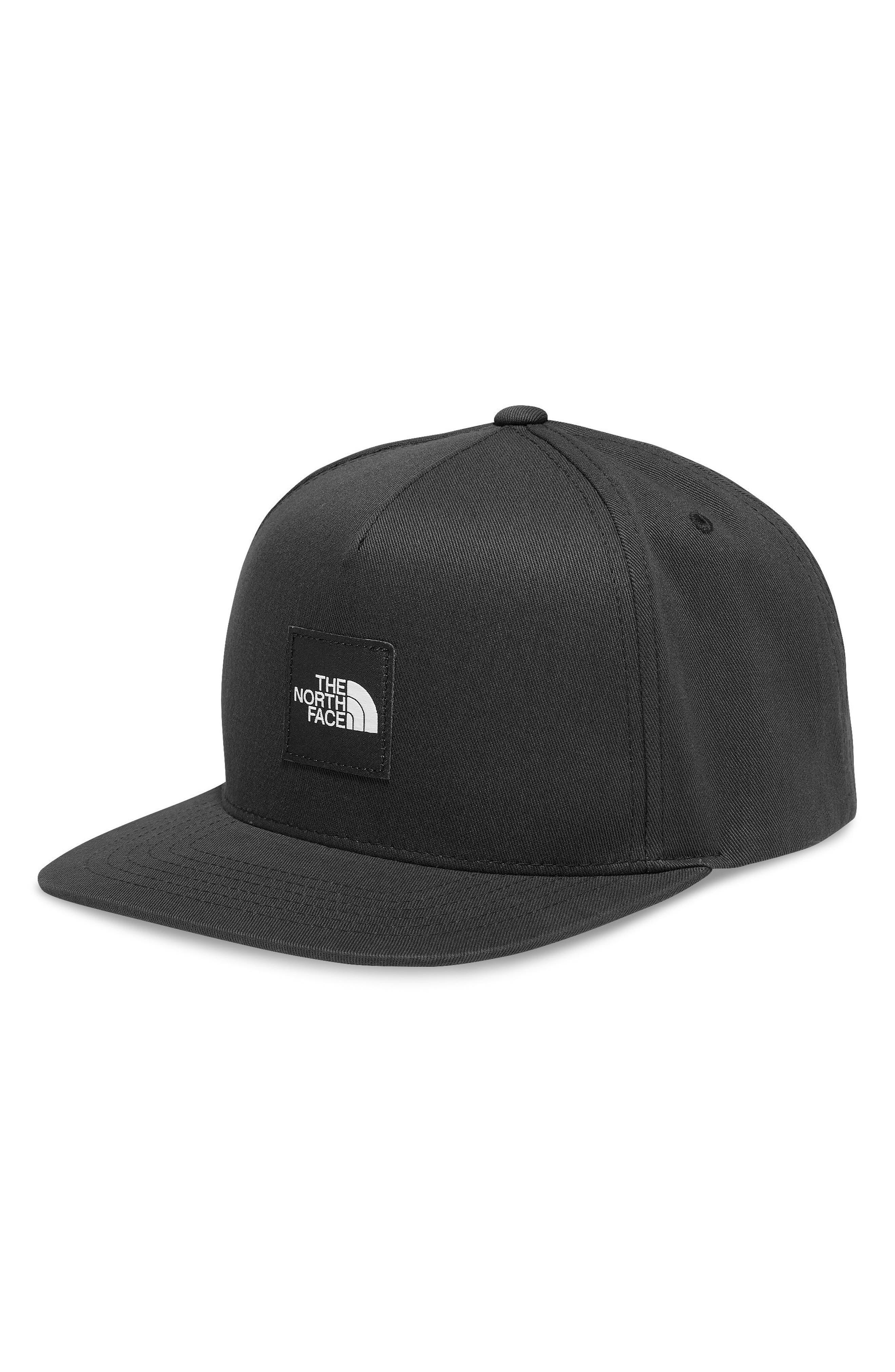 Street Baseball Cap,                         Main,                         color, TNF BLACK/ TNF BLACK