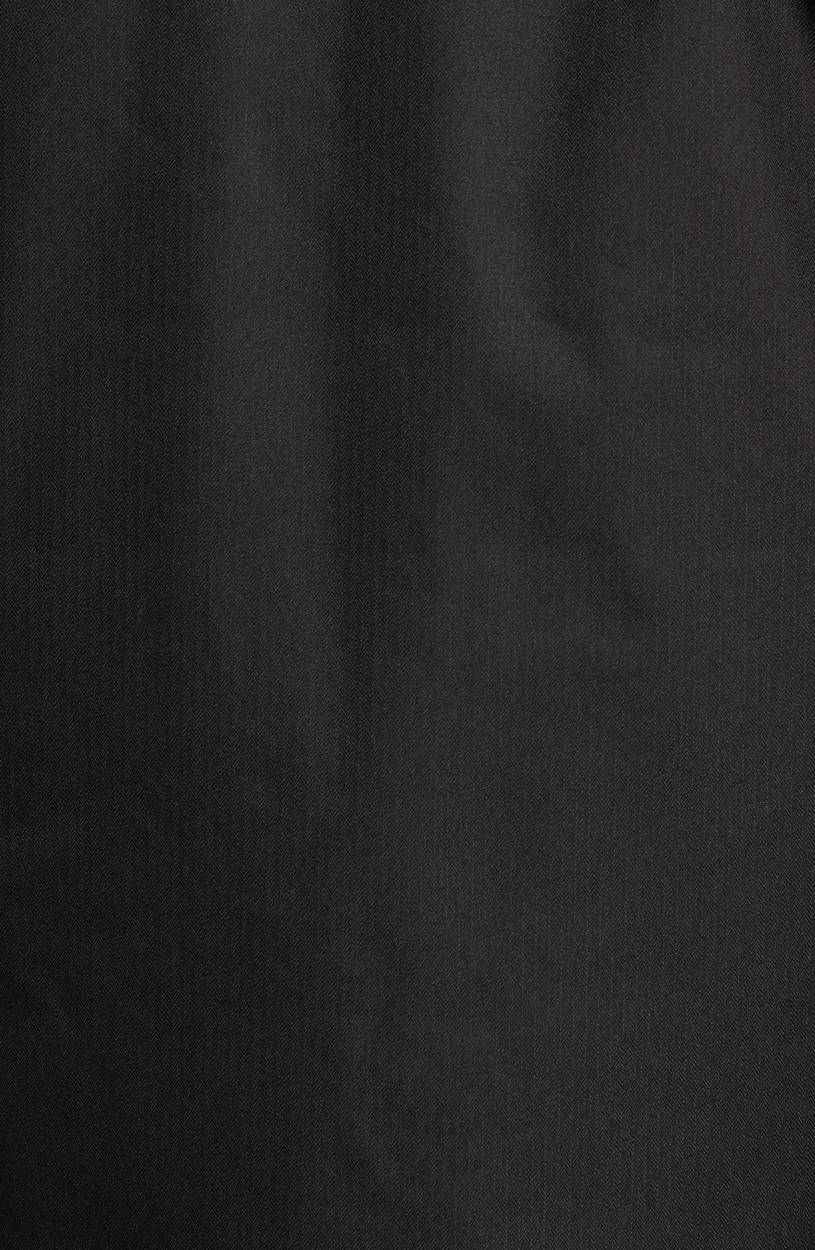 Gatekeeper Waterproof Jacket,                             Alternate thumbnail 7, color,                             TNF BLACK/TNF BLACK
