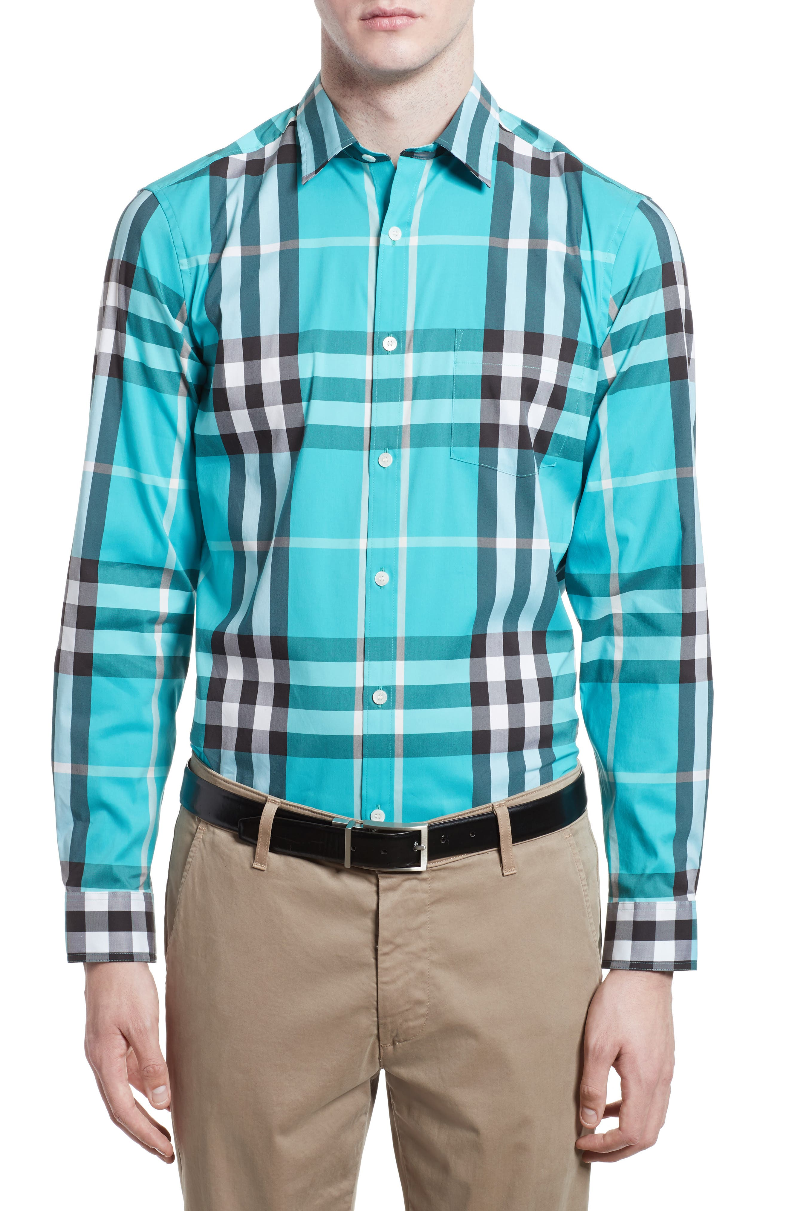Nelson Check Sport Shirt,                             Main thumbnail 11, color,