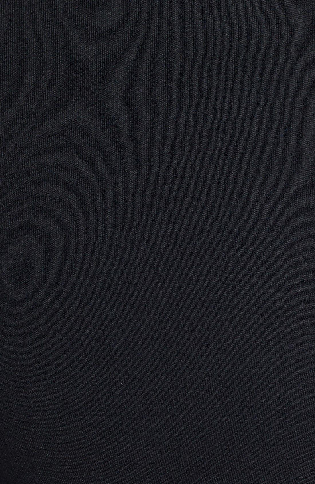 'Kasia' Bootcut Milano Knit Pants,                             Alternate thumbnail 3, color,                             CAVIAR