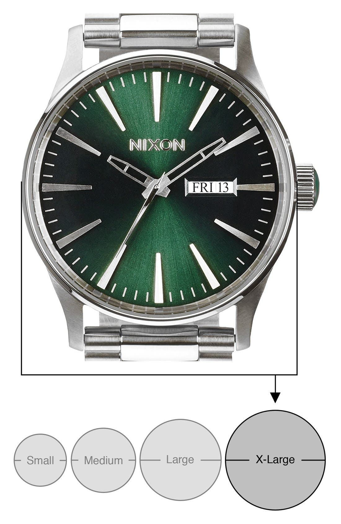 'The Sentry' Round Bracelet Watch, 42mm,                             Alternate thumbnail 5, color,                             043