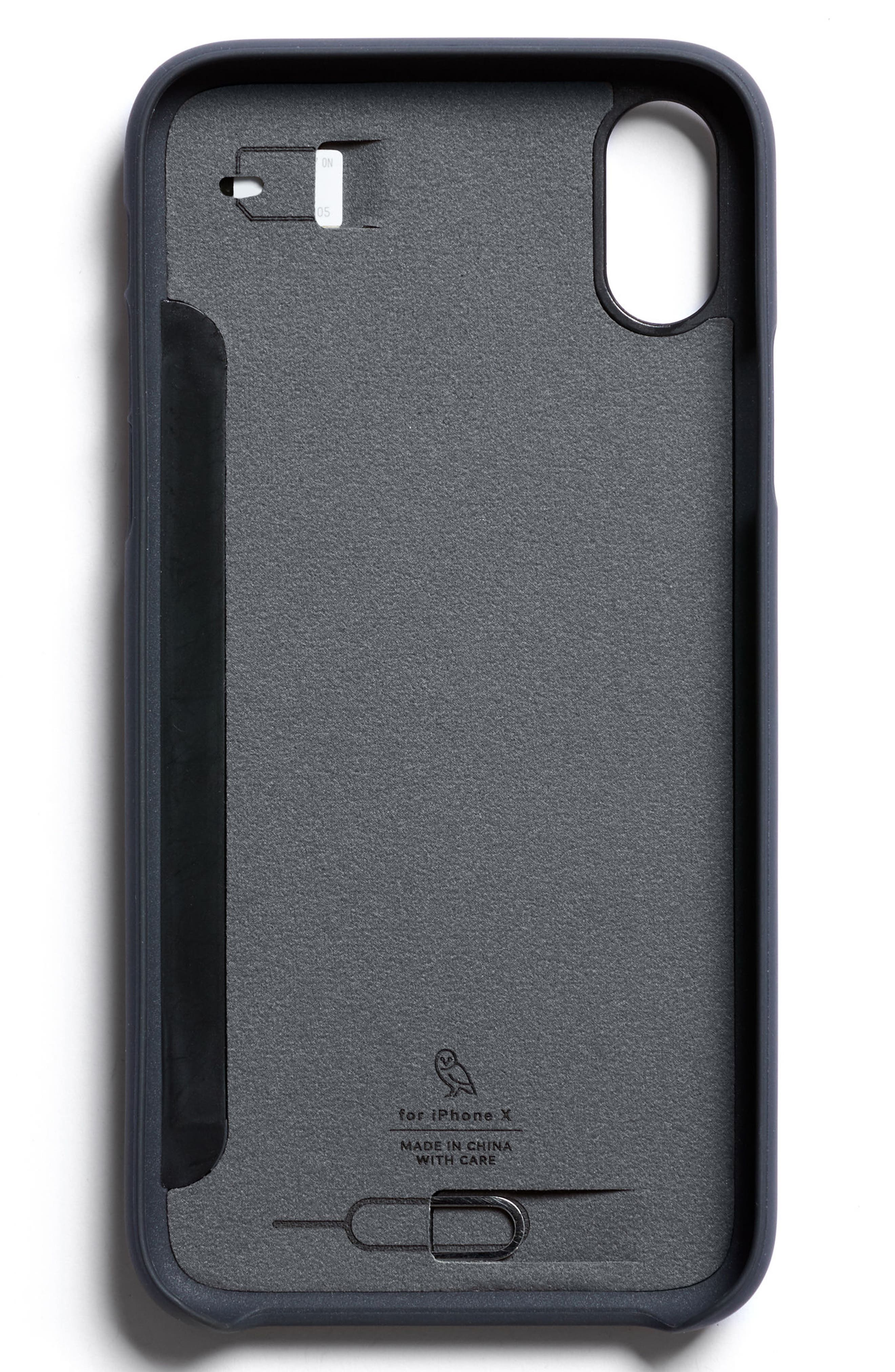 Three Card iPhone X & Xs Case,                             Alternate thumbnail 7, color,