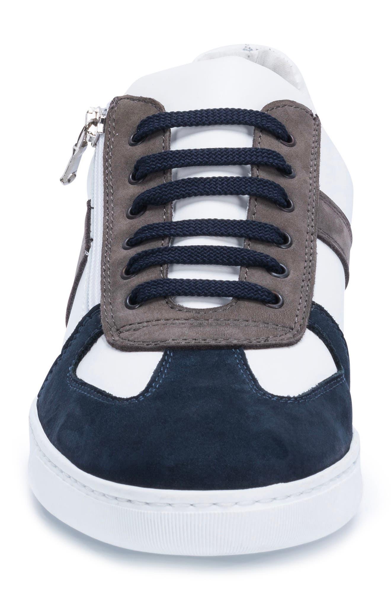Calabria Sneaker,                             Alternate thumbnail 4, color,                             WHITE