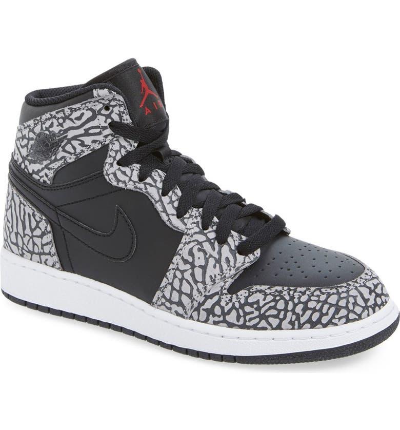 Nike  Air Jordan 1 Retro  High Top Basketball Shoe (Big Kid)  a816f1f13