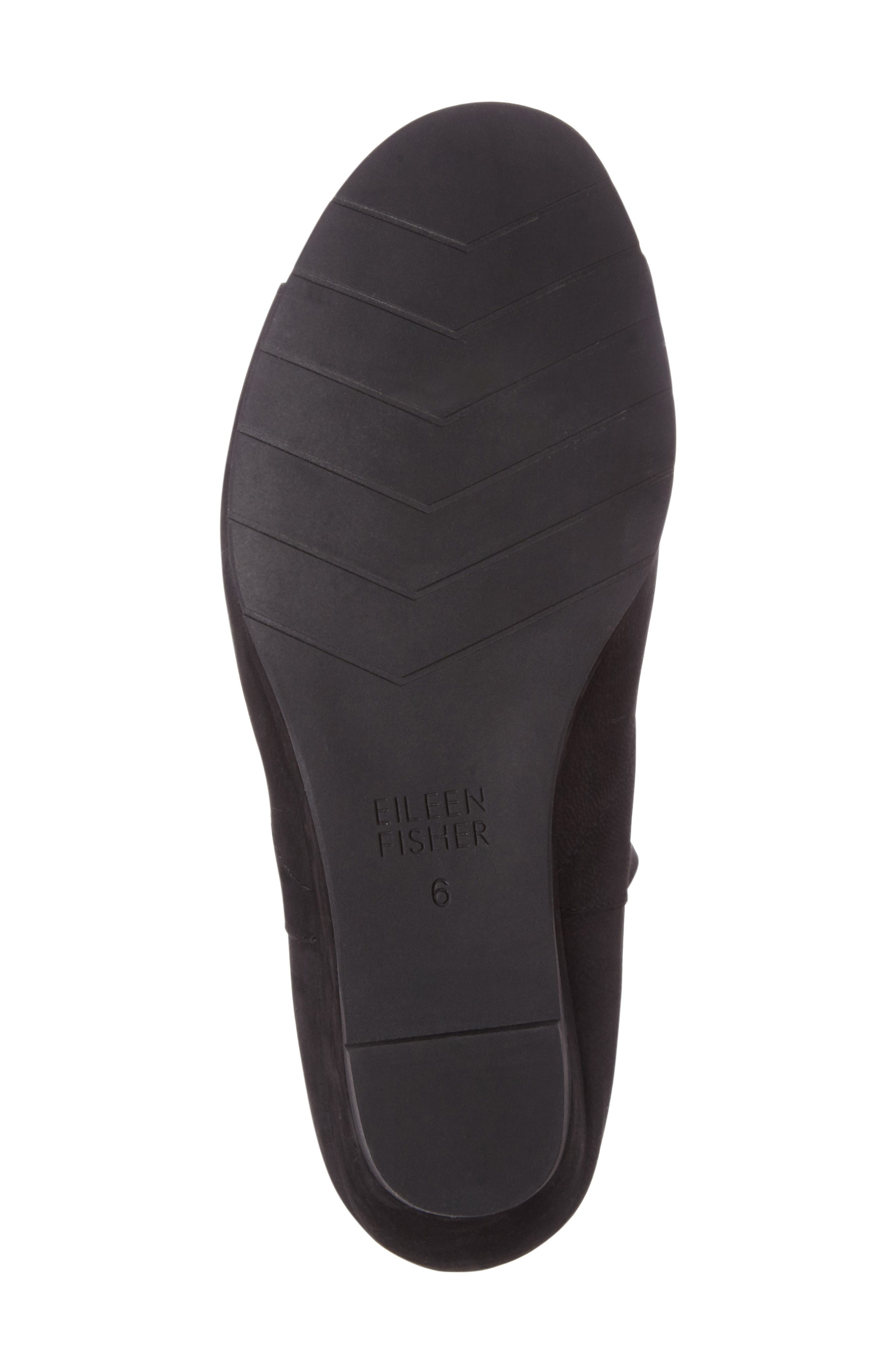 Duffy Open Toe Wedge Bootie,                             Alternate thumbnail 4, color,                             001