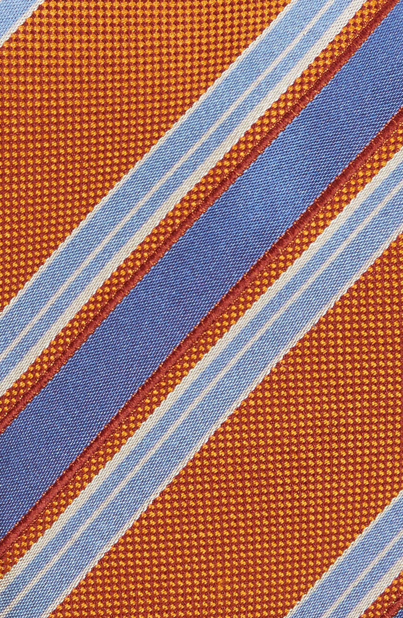 Stripe Silk Tie,                             Alternate thumbnail 10, color,
