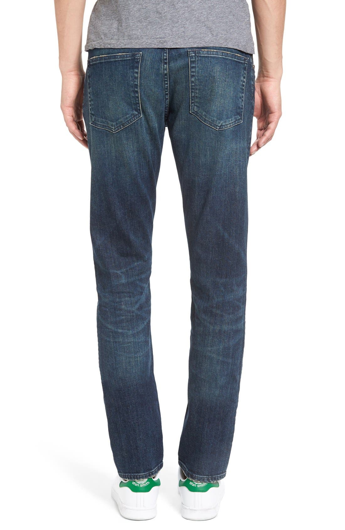 Bowery Slim Fit Jeans,                             Alternate thumbnail 3, color,                             463