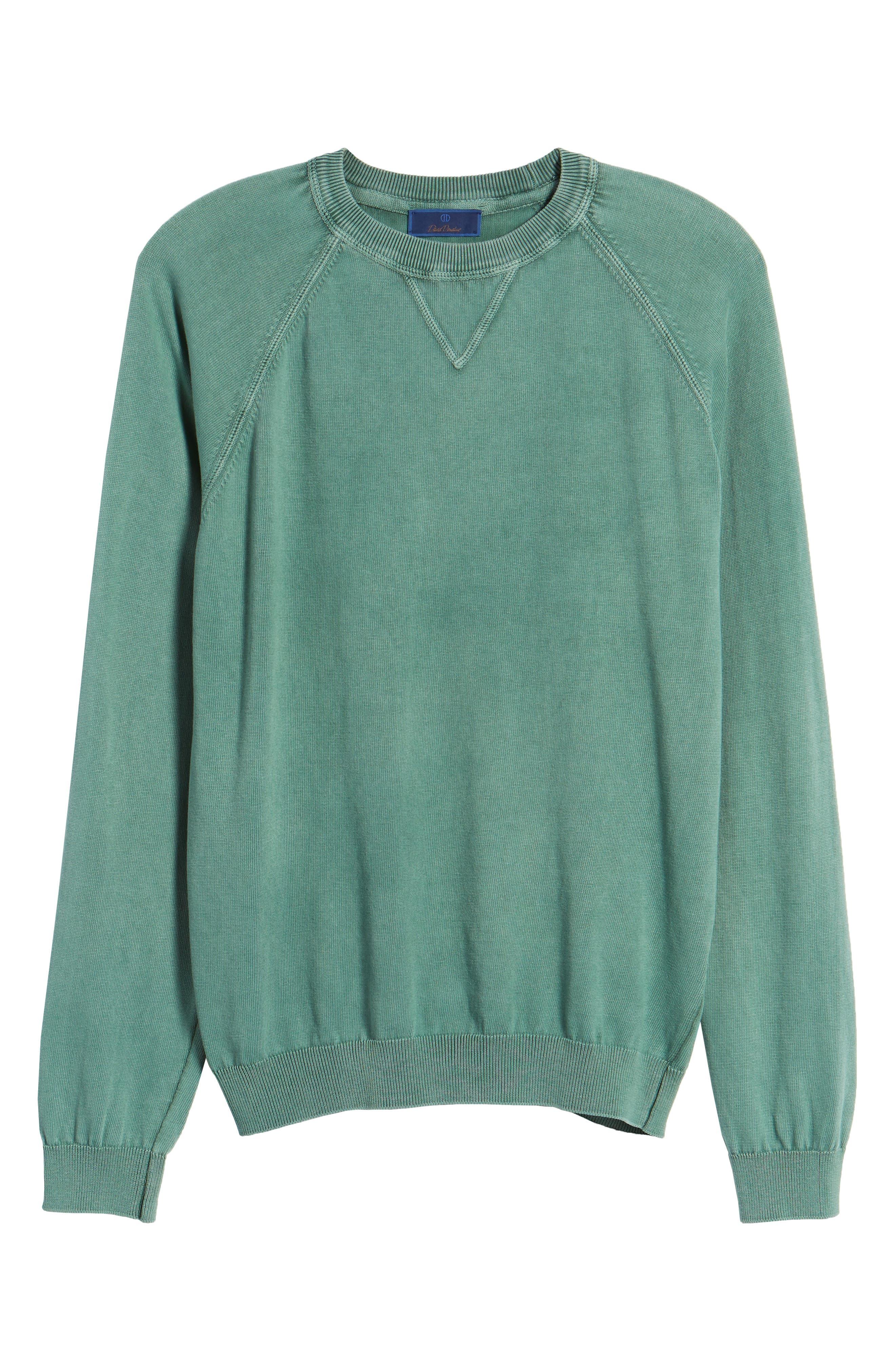 Stonewash Cotton Sweatshirt,                             Alternate thumbnail 6, color,