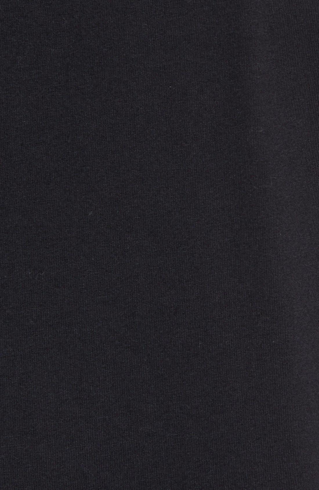 Flintlock Longline T-Shirt,                             Alternate thumbnail 2, color,                             001