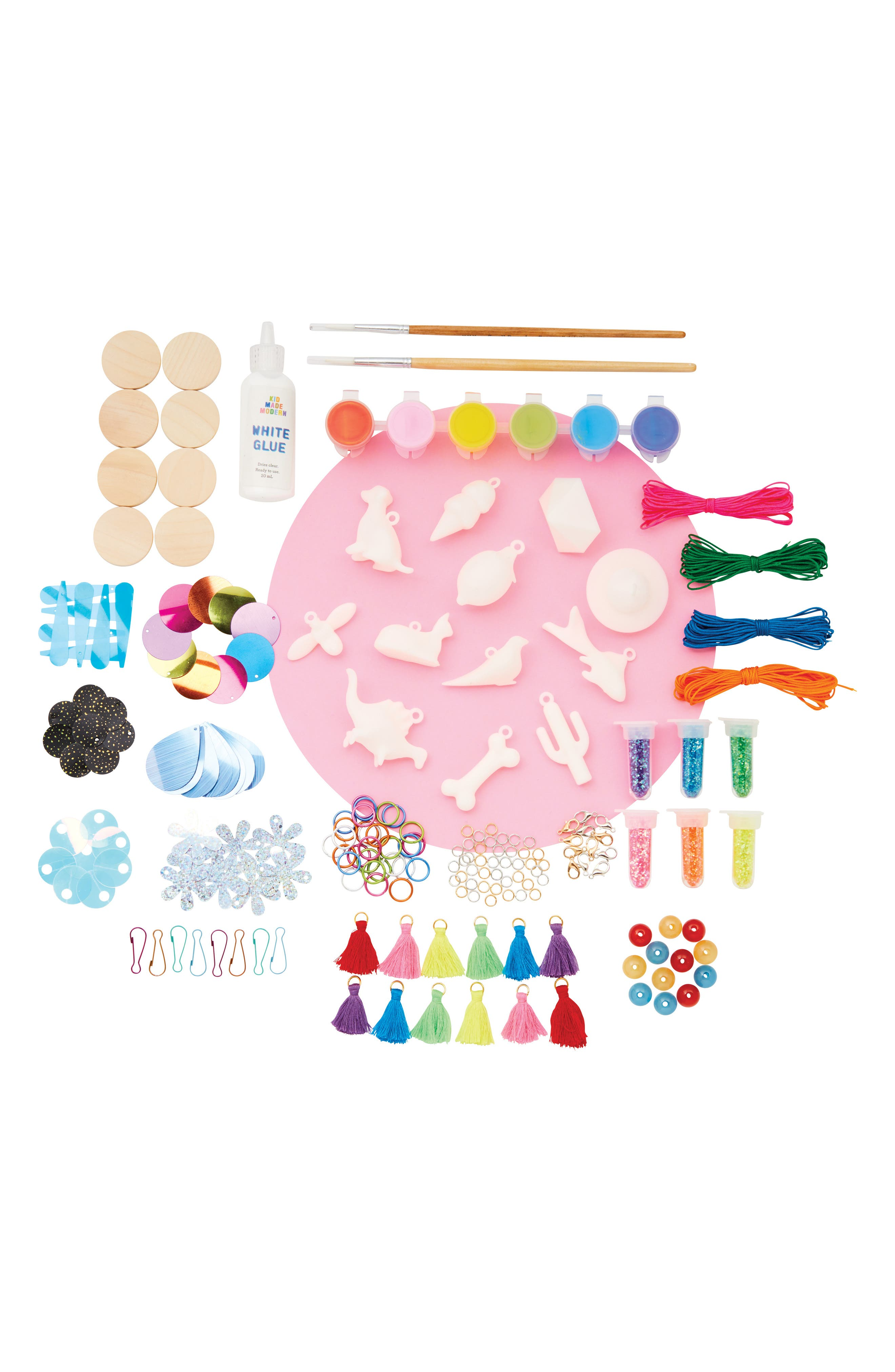 Charm Chest Jewelry Craft Kit,                             Alternate thumbnail 2, color,                             MULTI