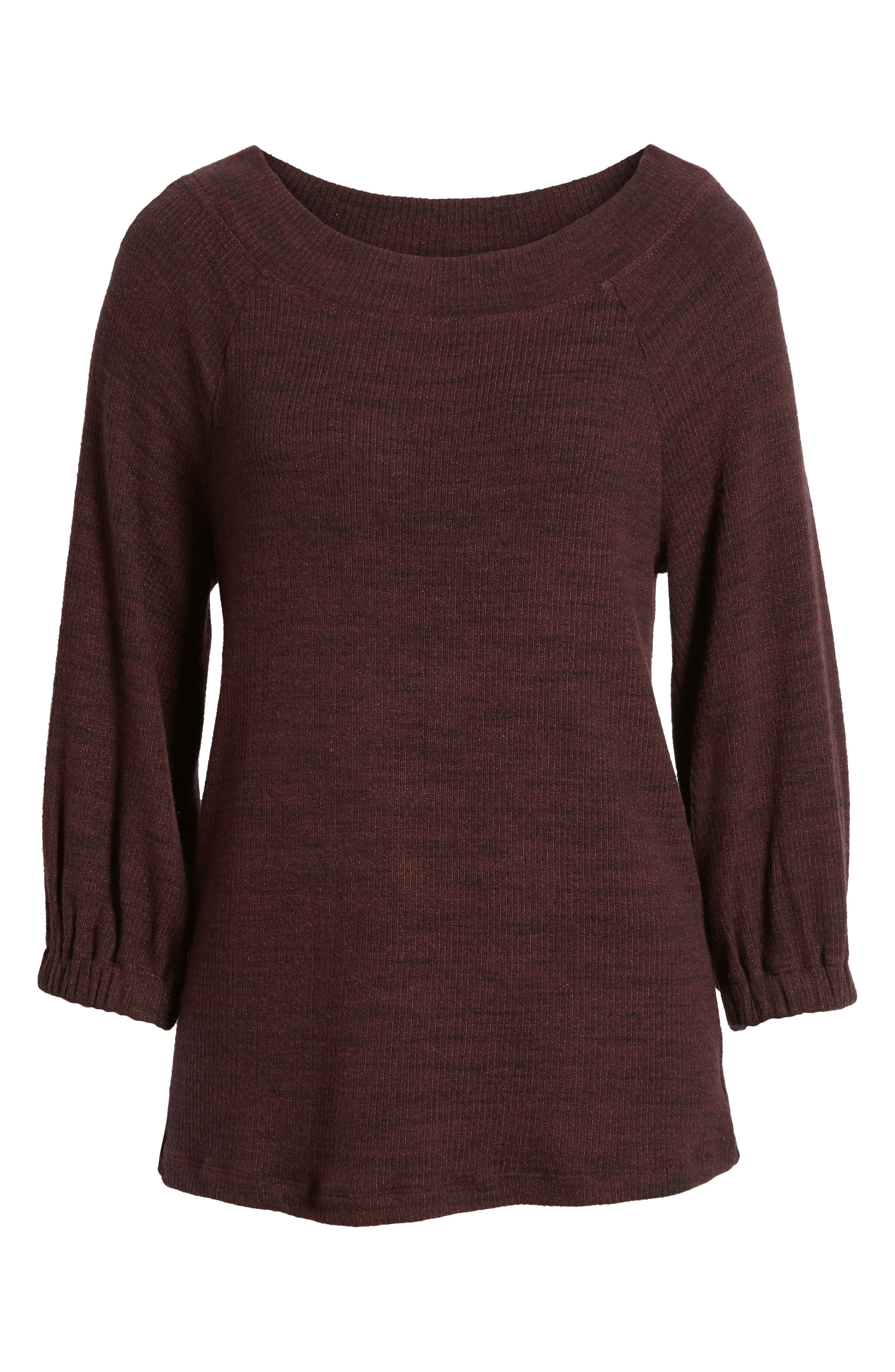 Triblend Ribbed Top,                             Alternate thumbnail 12, color,
