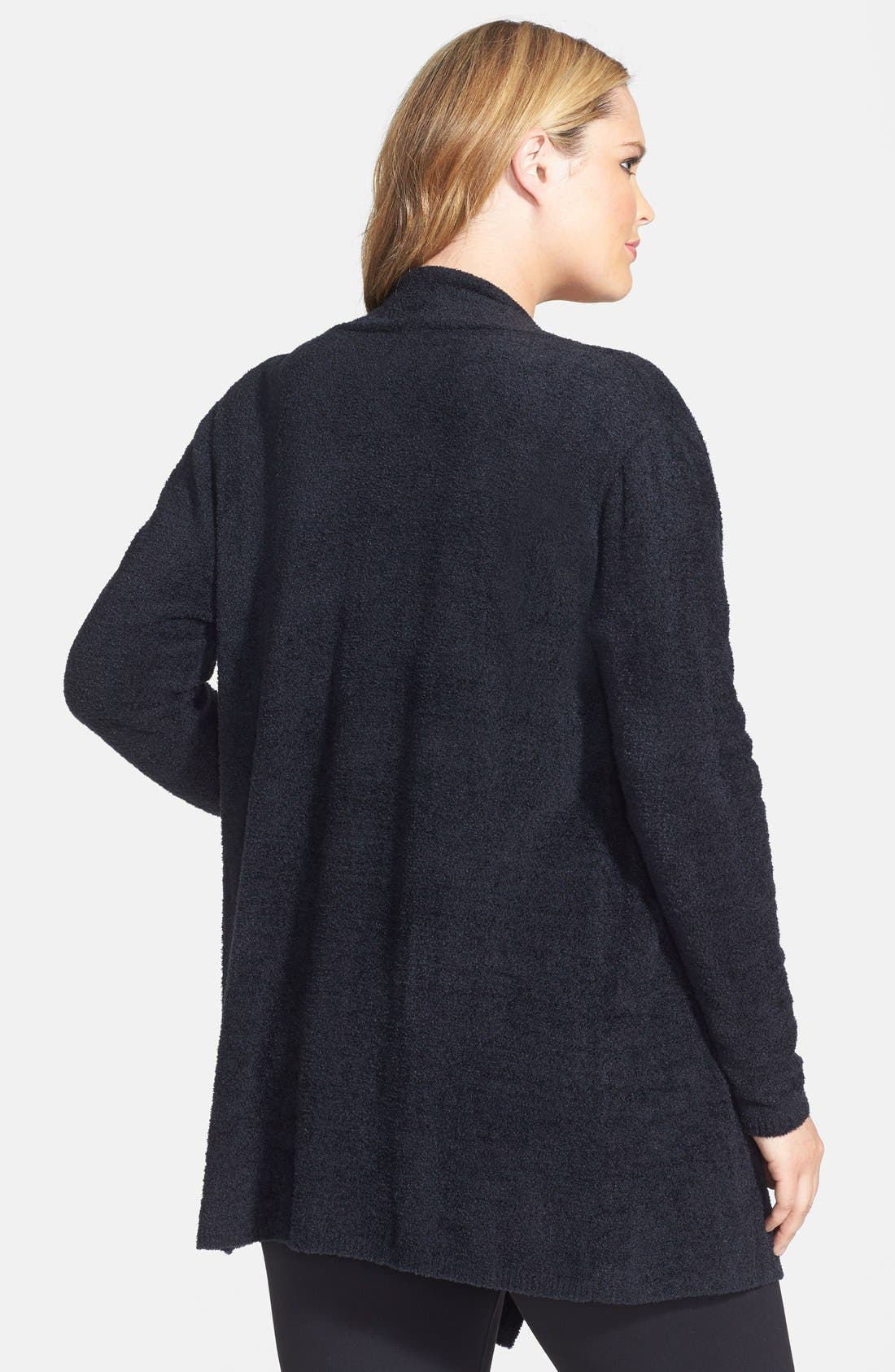 CozyChic Lite<sup>®</sup> Calypso Wrap Cardigan,                             Alternate thumbnail 7, color,                             001