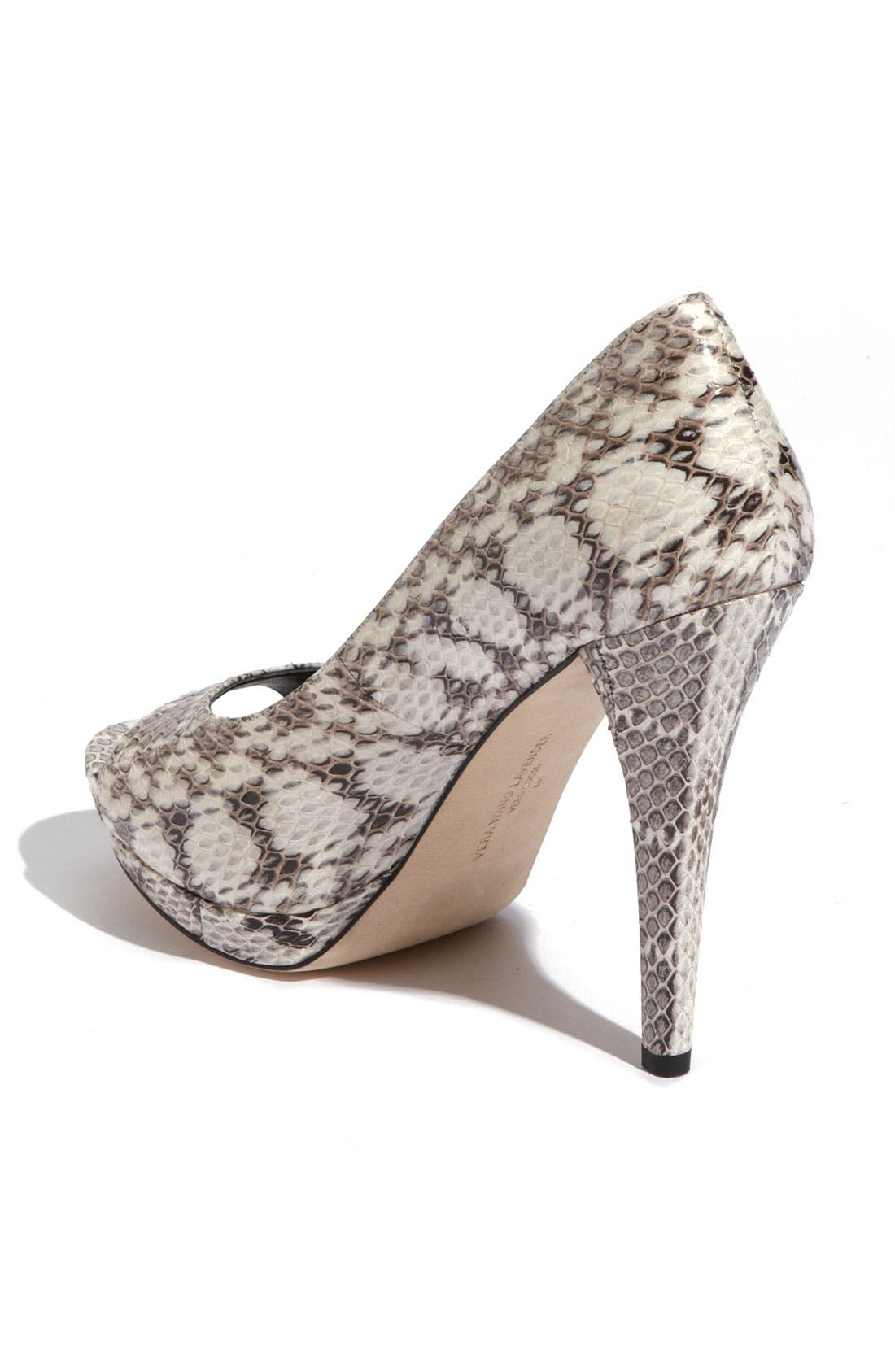 Footwear 'Selima' Peep Toe Pump,                             Alternate thumbnail 16, color,